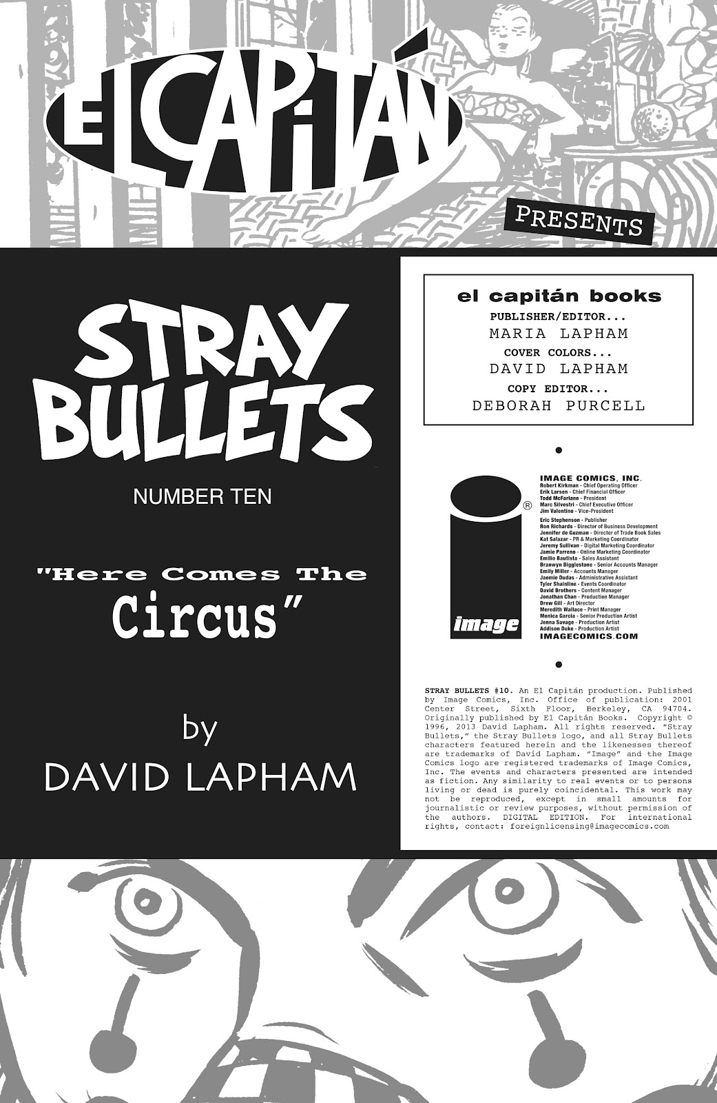 Stray Bullets Issue #10 #10 - English 2