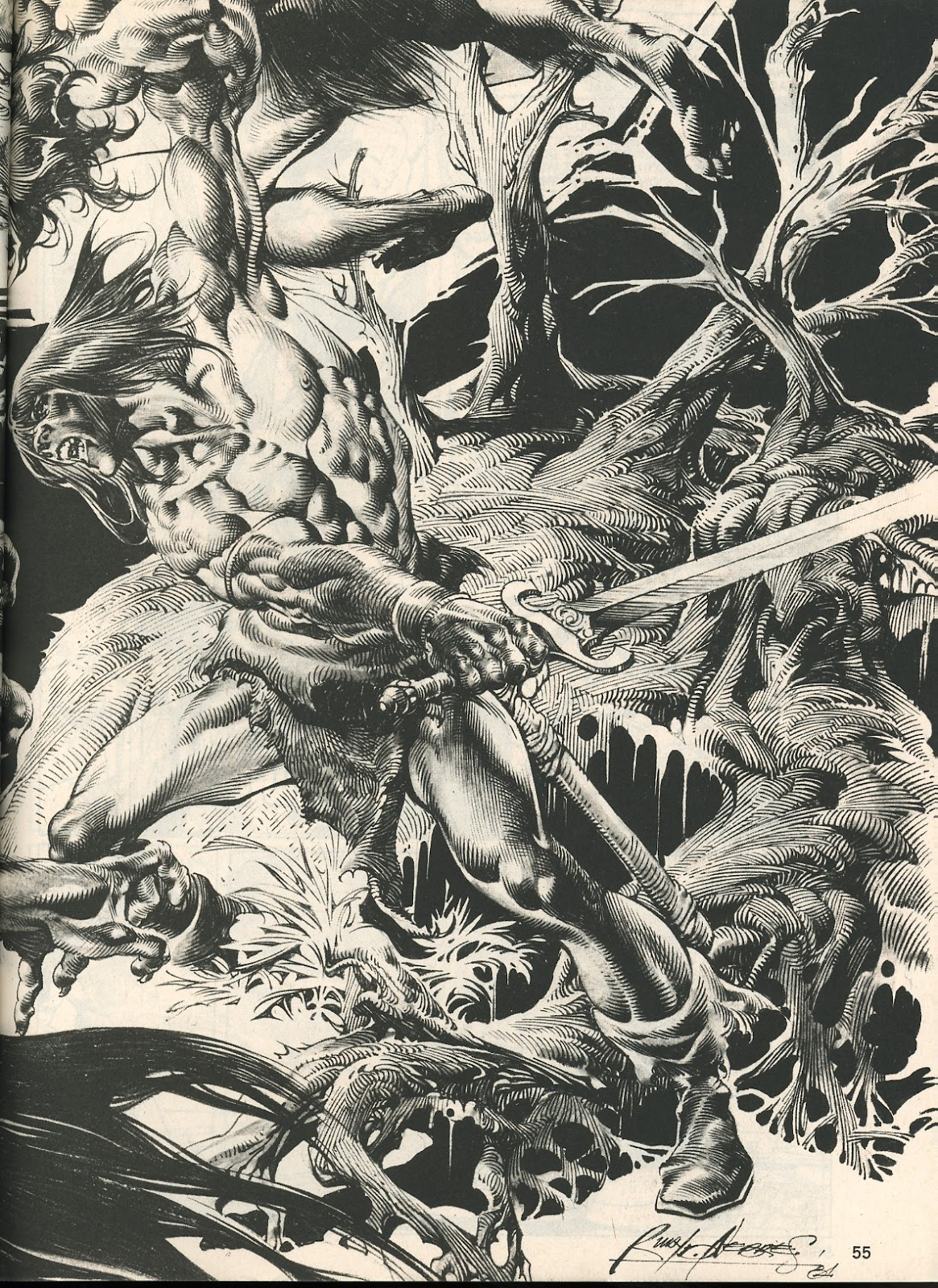The Savage Sword Of Conan Issue #107 #108 - English 55