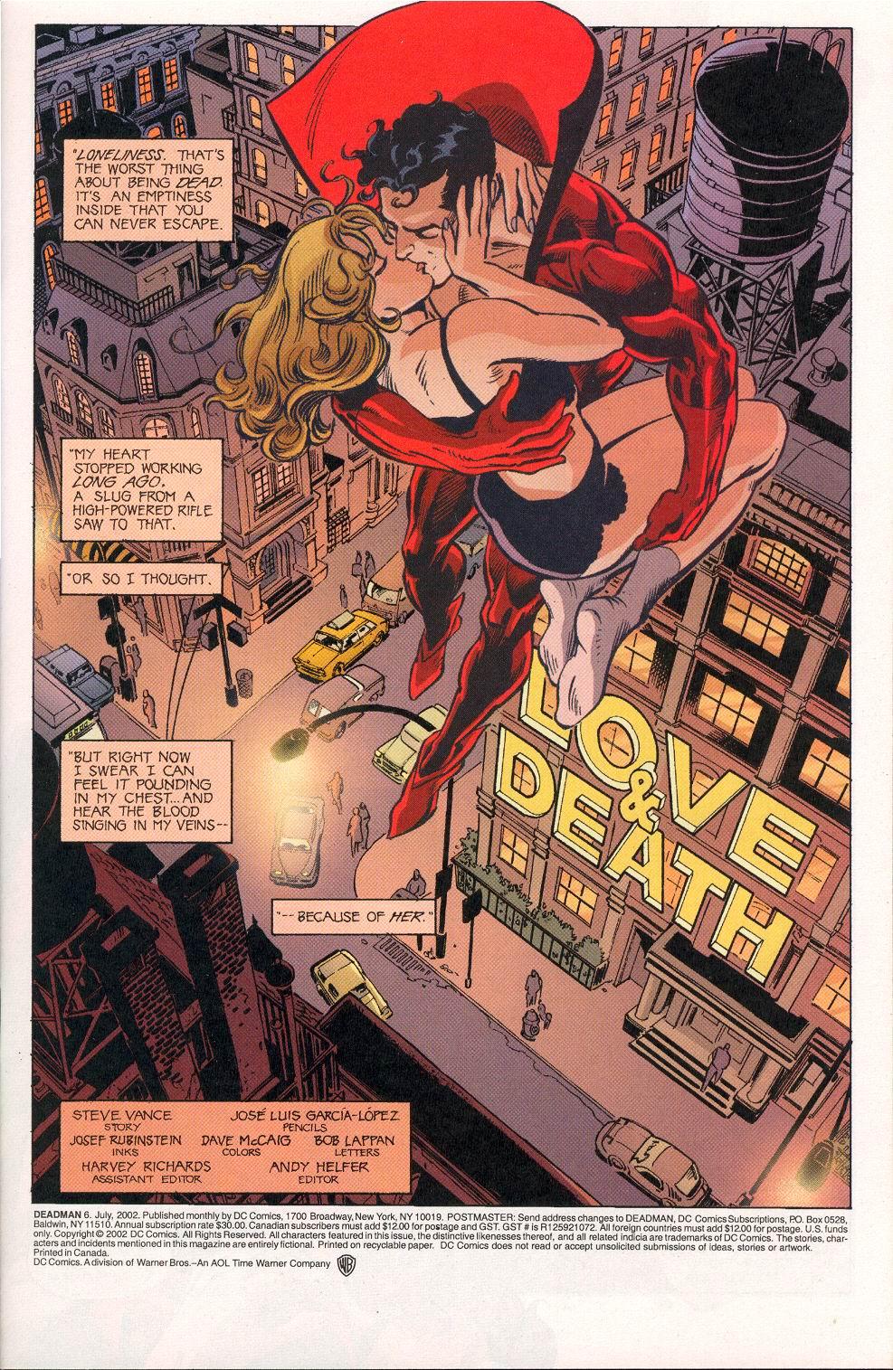 Read online Deadman (2002) comic -  Issue #6 - 2