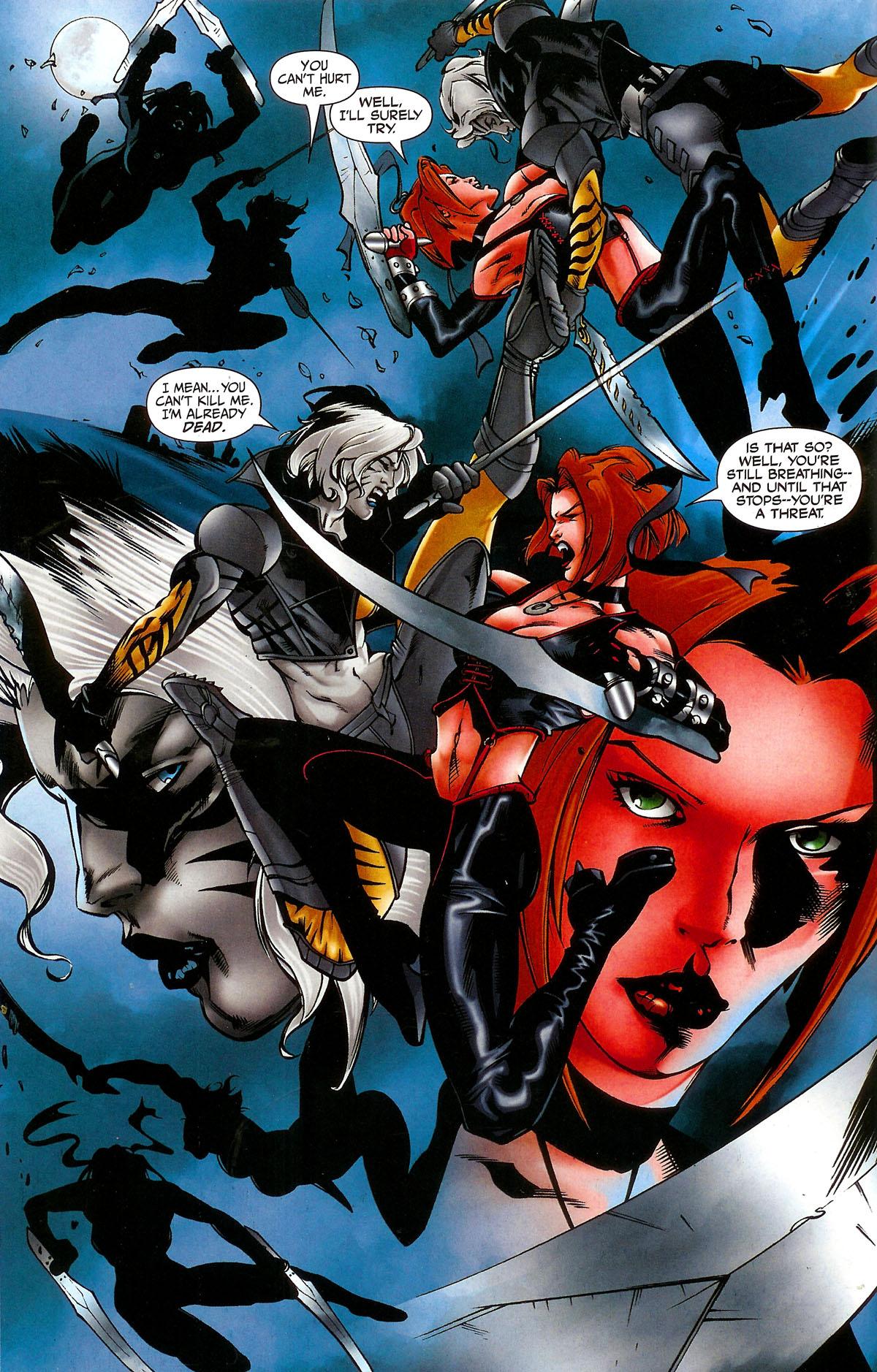 Read online BloodRayne: Dark Soul comic -  Issue # Full - 9