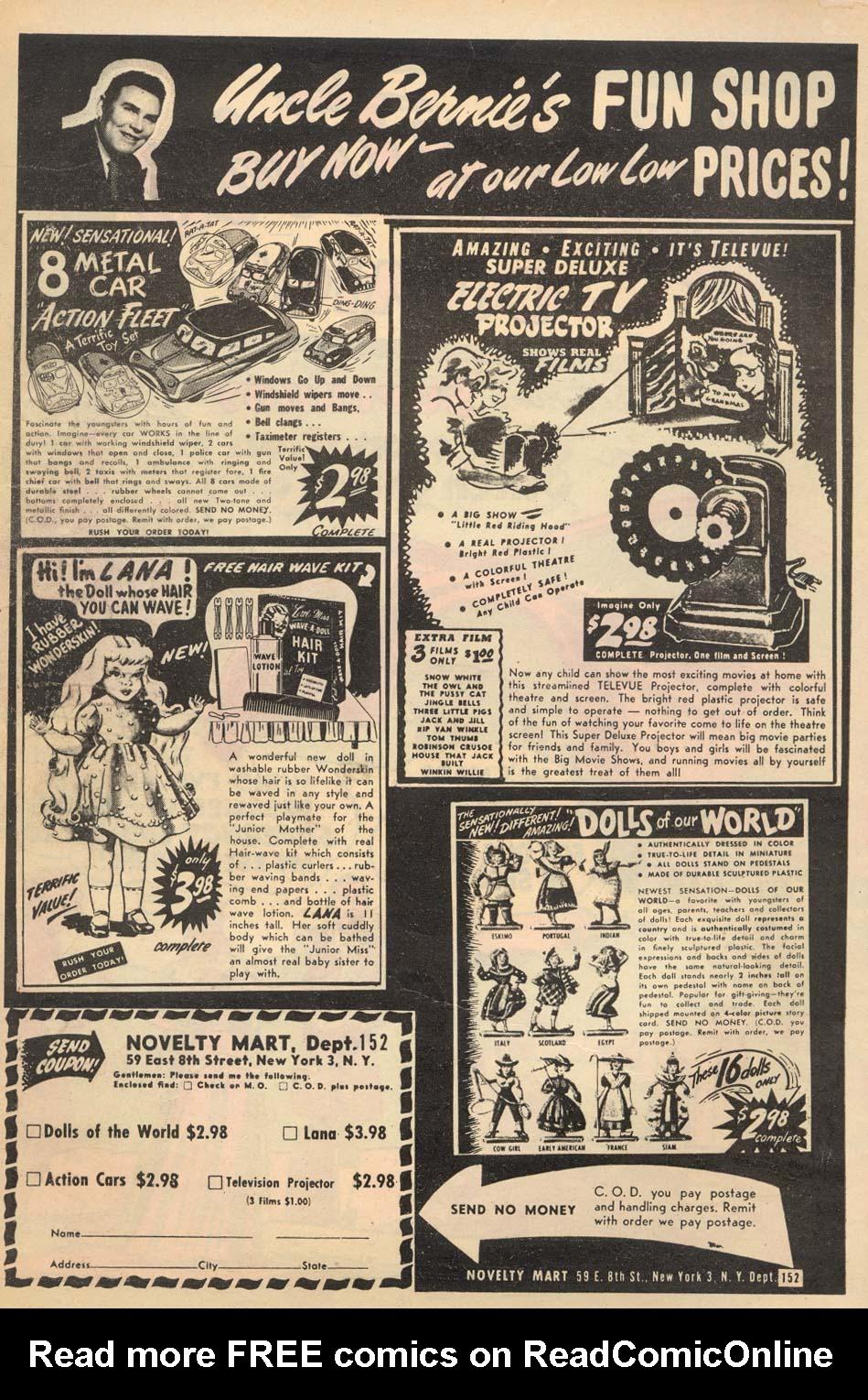 Read online Adventure Comics (1938) comic -  Issue #192 - 2