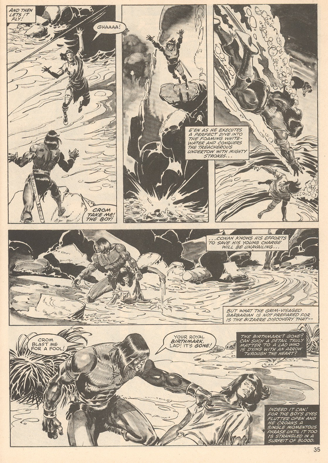 The Savage Sword Of Conan Issue #76 #77 - English 35