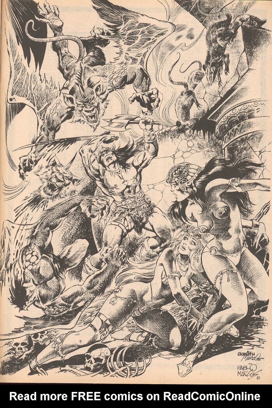 The Savage Sword Of Conan Issue #70 #71 - English 65