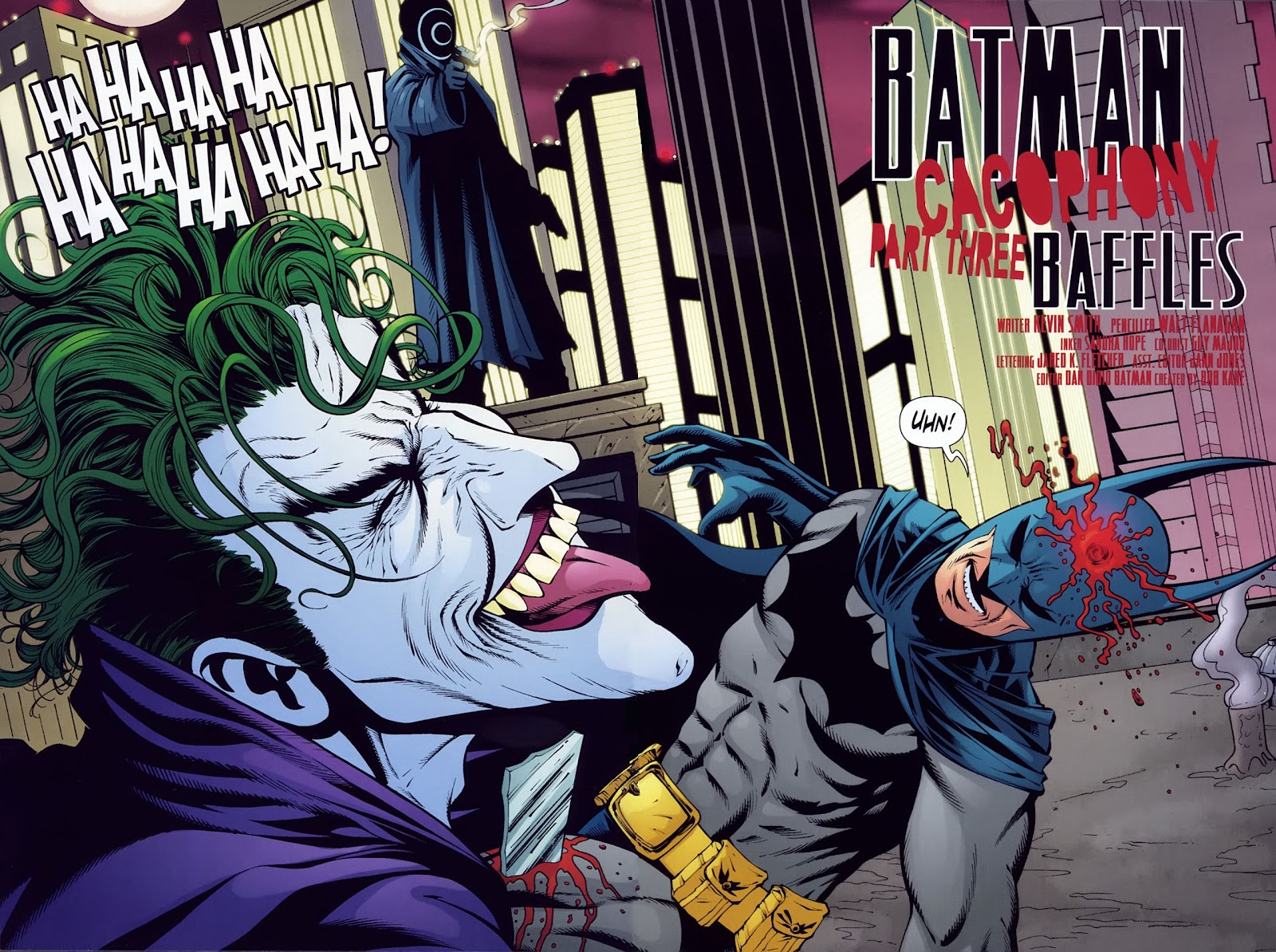 Cacophony Batman