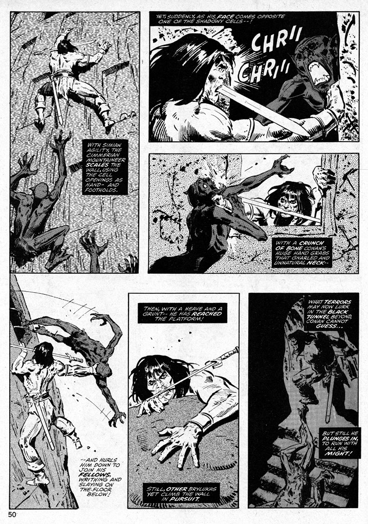 The Savage Sword Of Conan Issue #38 #39 - English 50