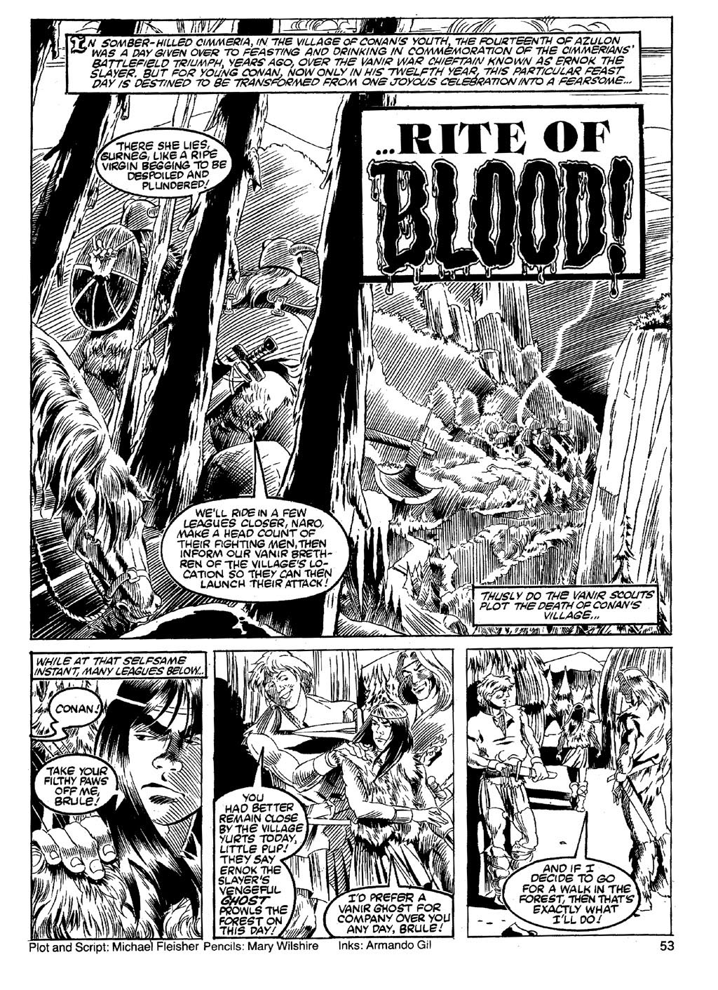 The Savage Sword Of Conan Issue #89 #90 - English 51