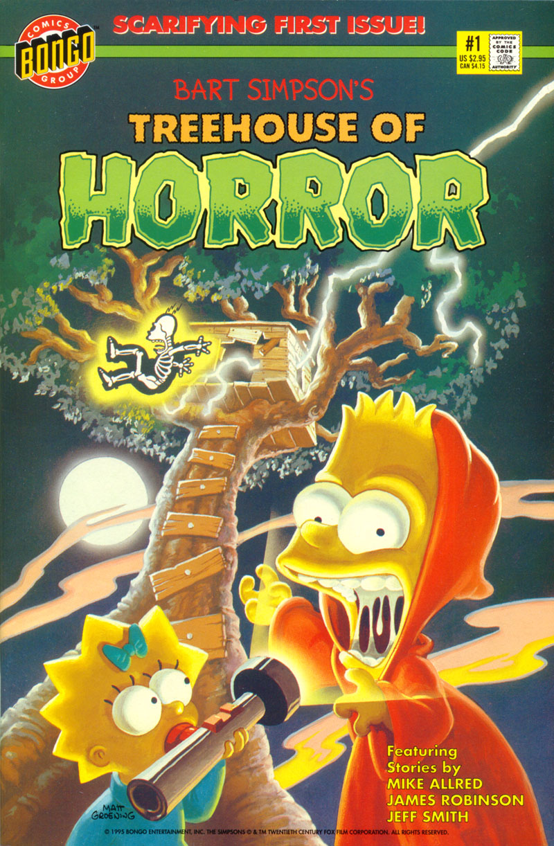 treehouse of horror #1 - read treehouse of horror issue #1 online