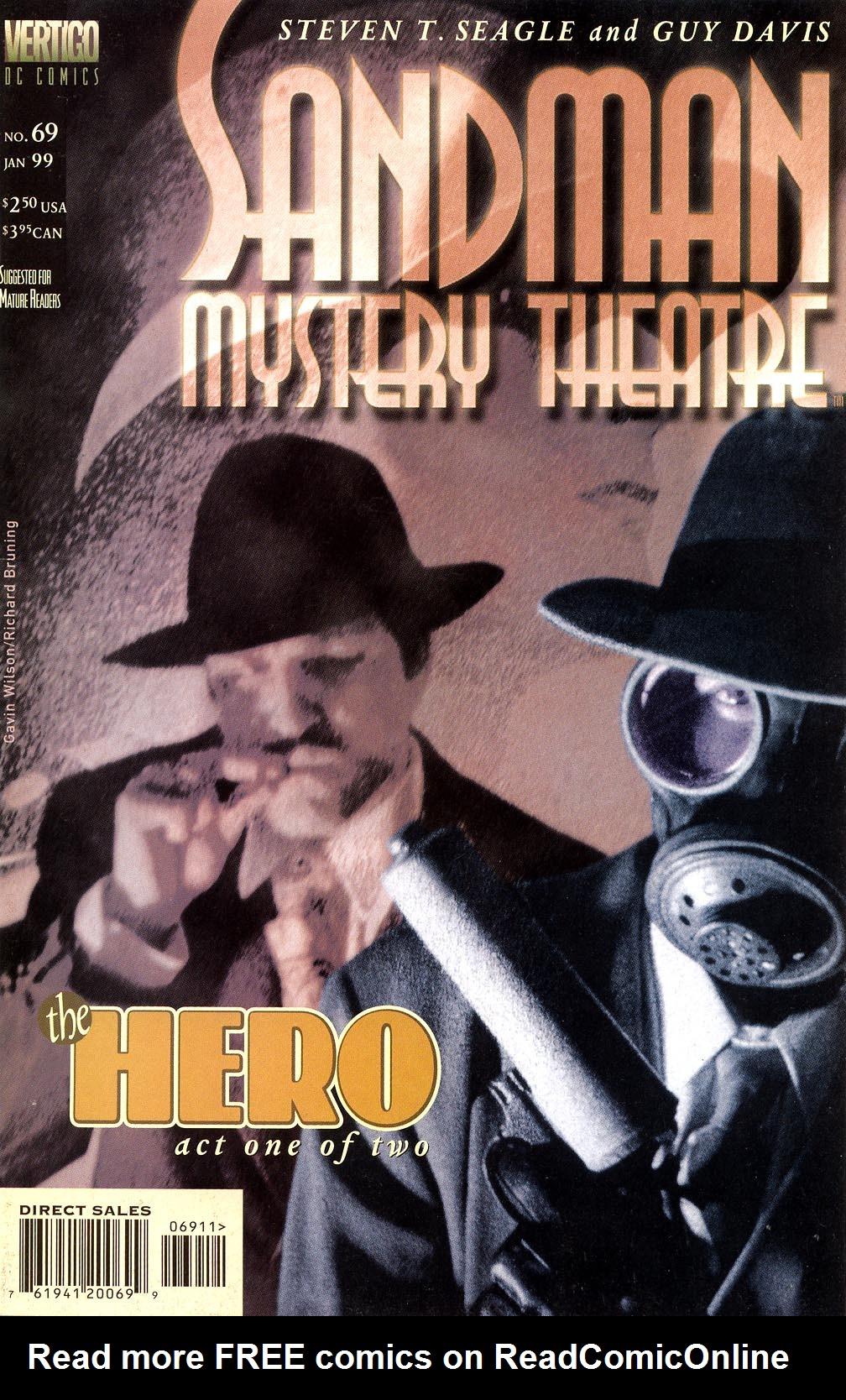 Sandman Mystery Theatre 69 Page 1