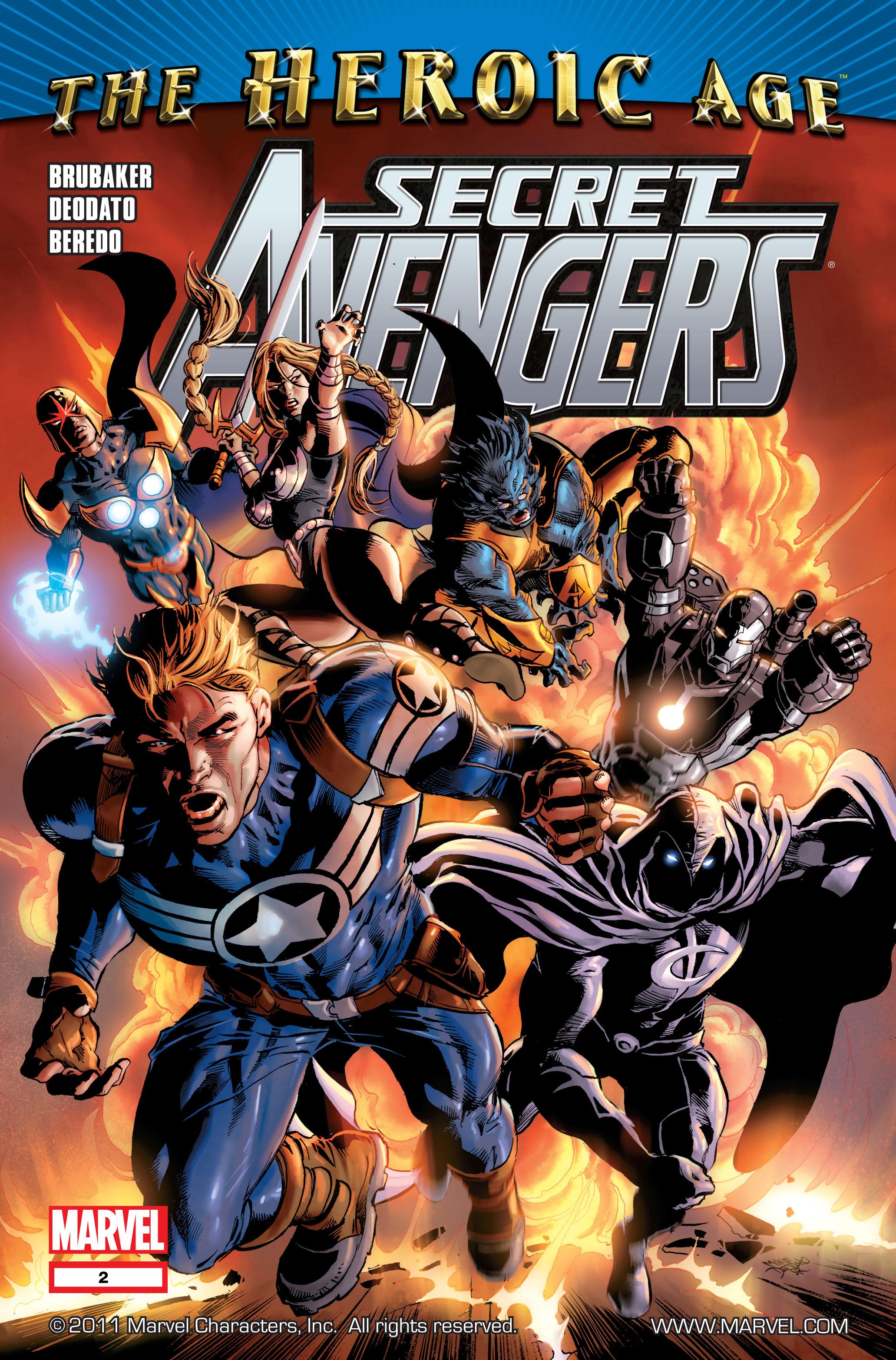 Read online Secret Avengers (2010) comic -  Issue #2 - 1