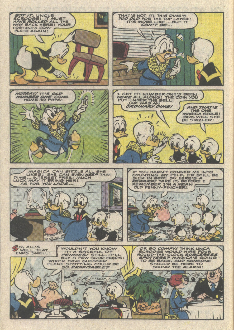 Uncle Scrooge (1953) Issue #223 #223 - English 12
