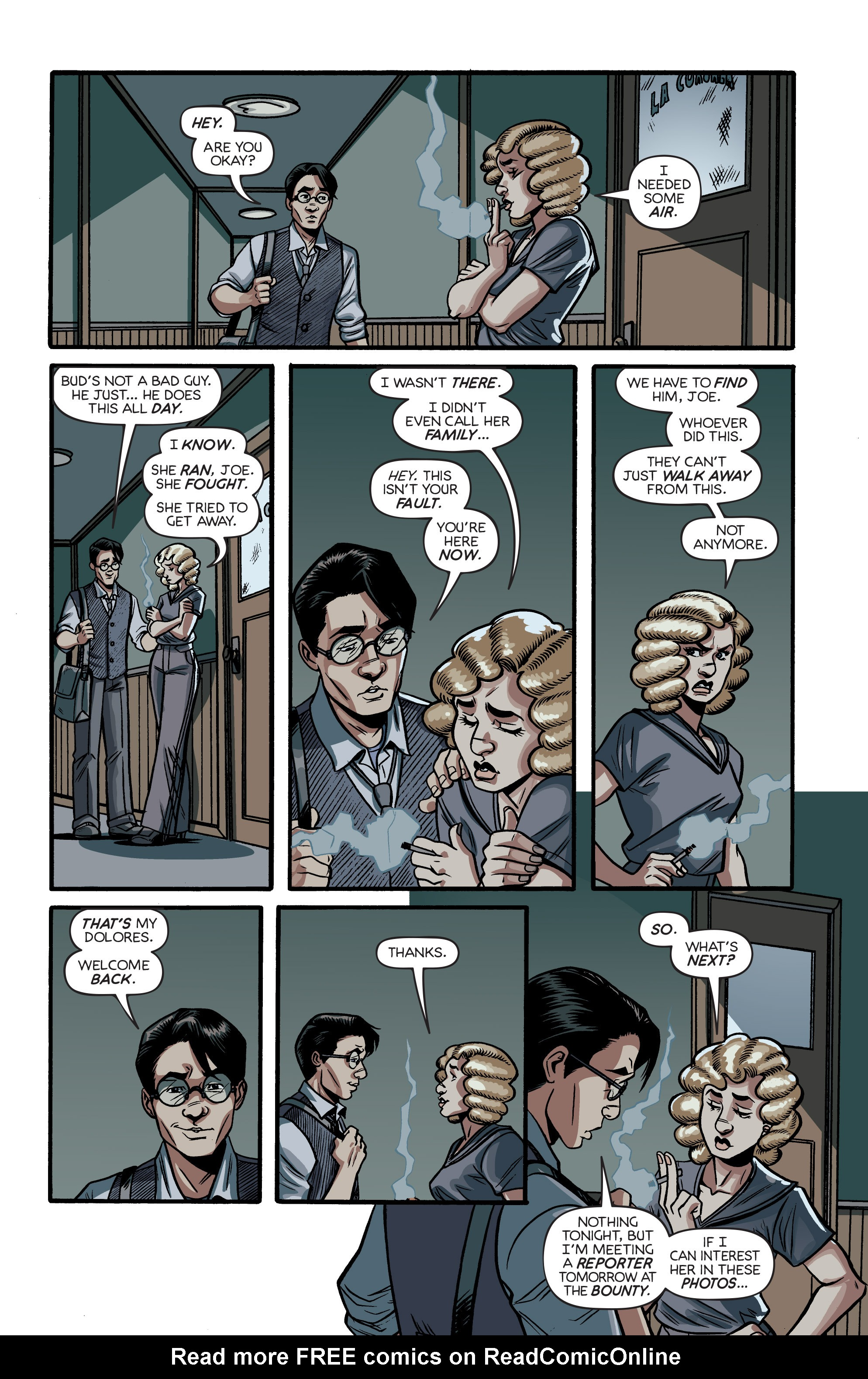 Read online Angel City comic -  Issue #2 - 20