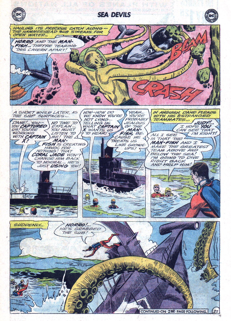 Read online Sea Devils comic -  Issue #22 - 29