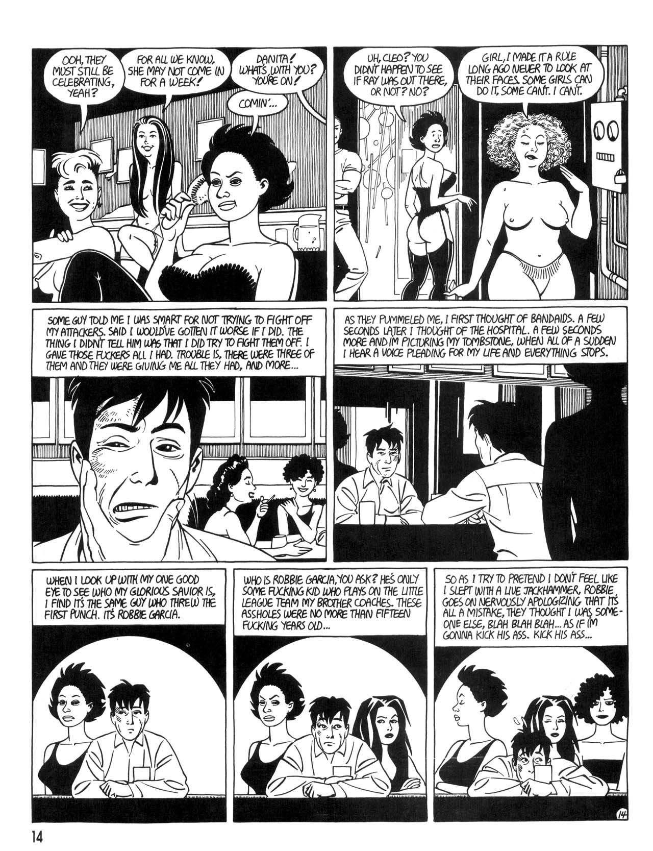 Love and Rockets (1982) #35 #35 - English 16
