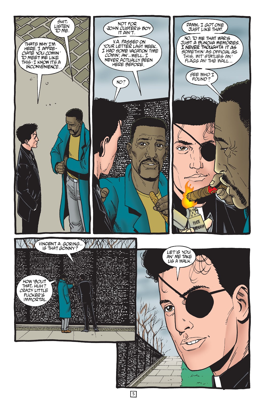 Preacher Issue #50 #59 - English 6