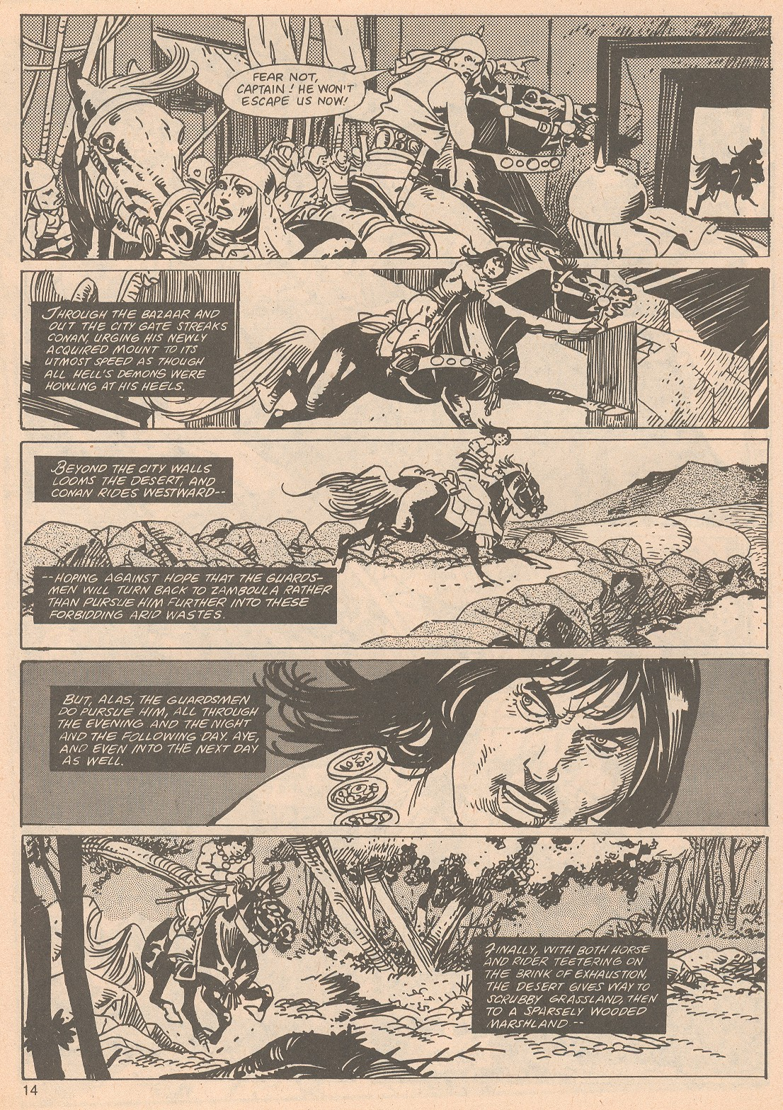 The Savage Sword Of Conan Issue #65 #66 - English 14