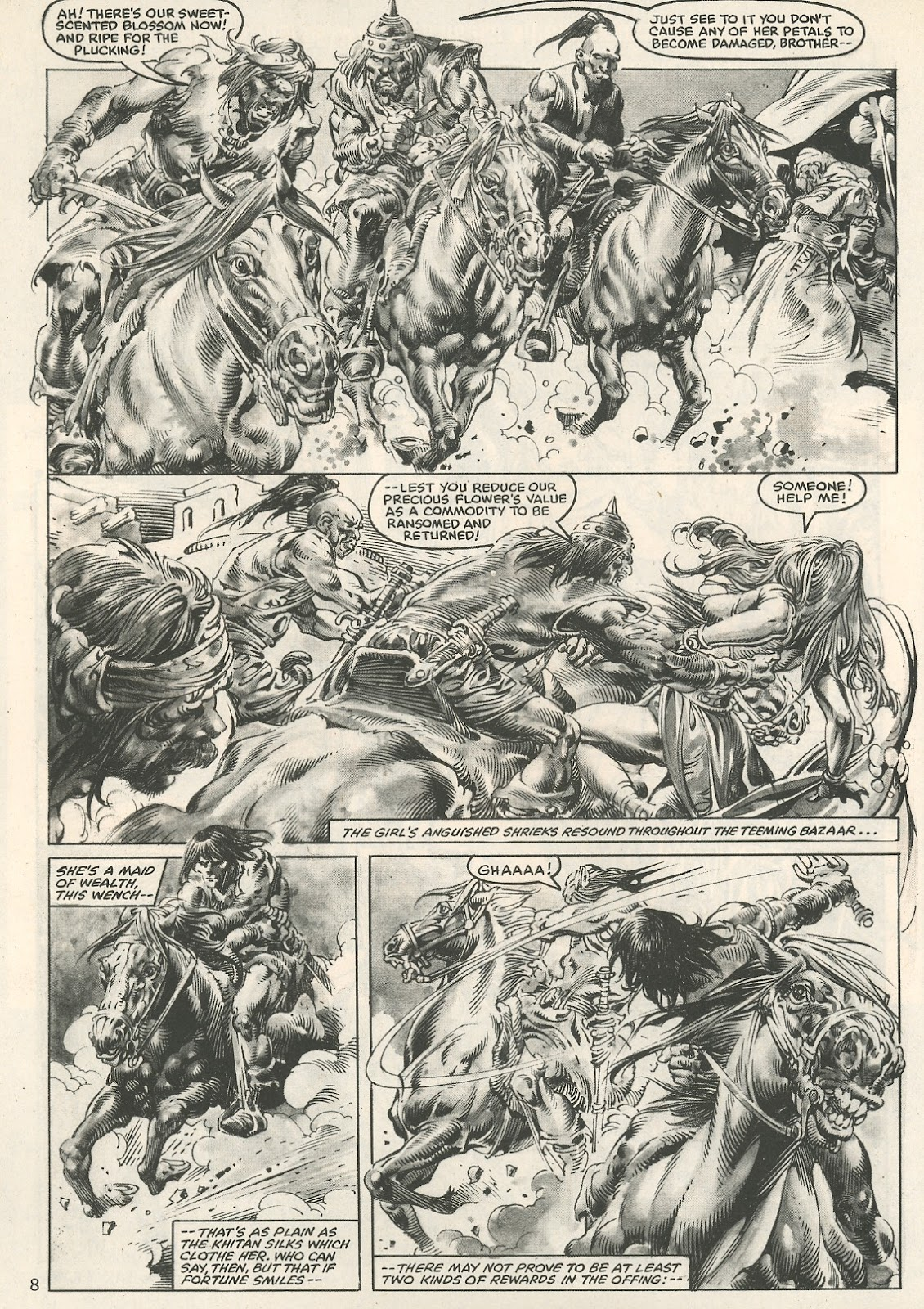 The Savage Sword Of Conan Issue #107 #108 - English 8