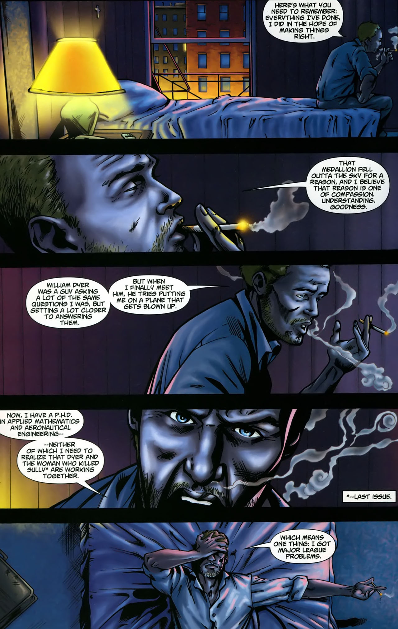 Read online Martian Manhunter (2006) comic -  Issue #3 - 5