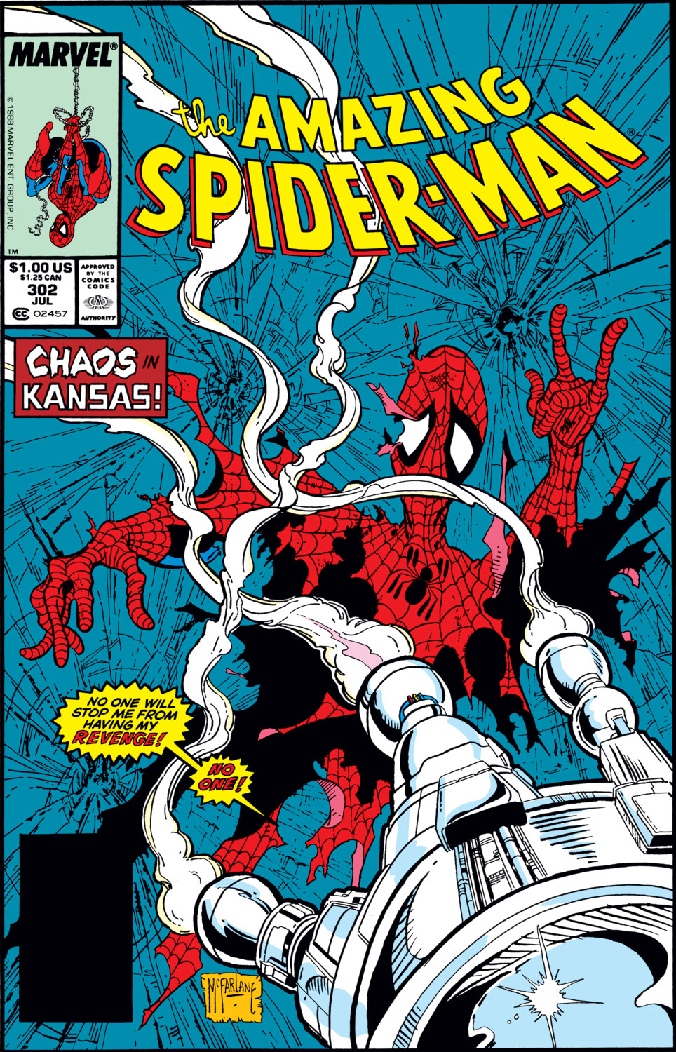 The Amazing Spider-Man (1963) 302 Page 1