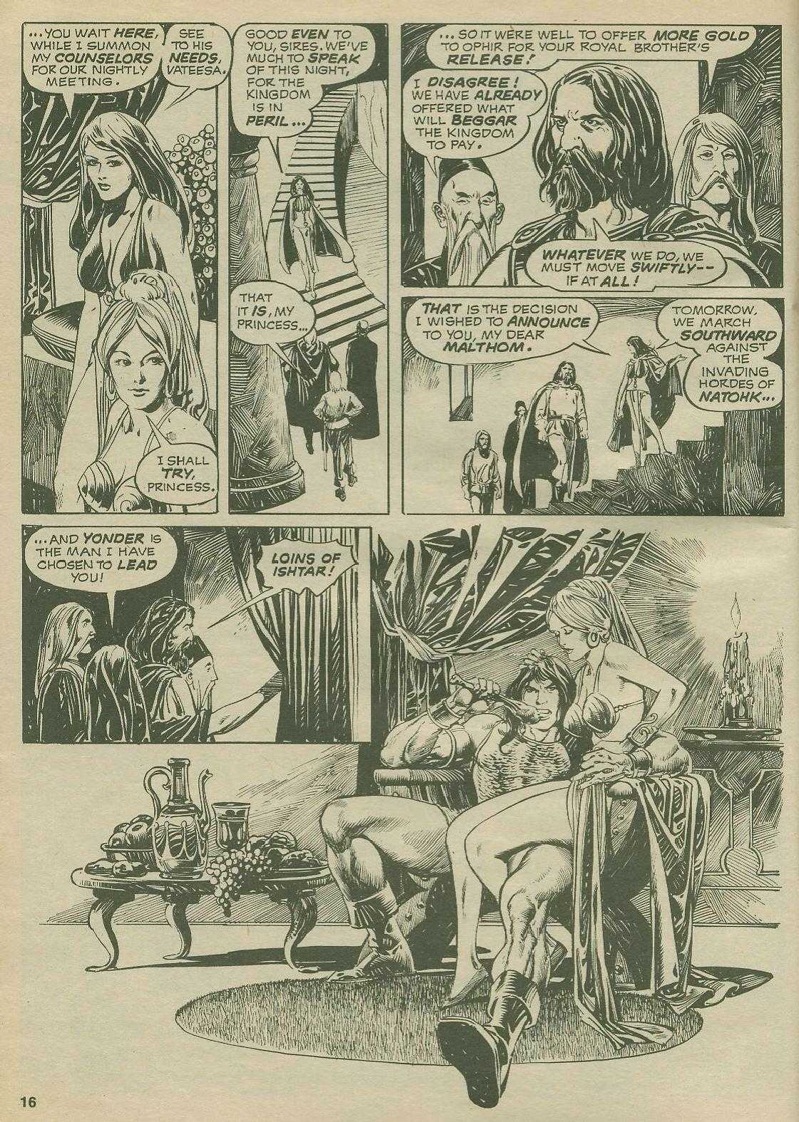 The Savage Sword Of Conan Issue #2 #3 - English 16