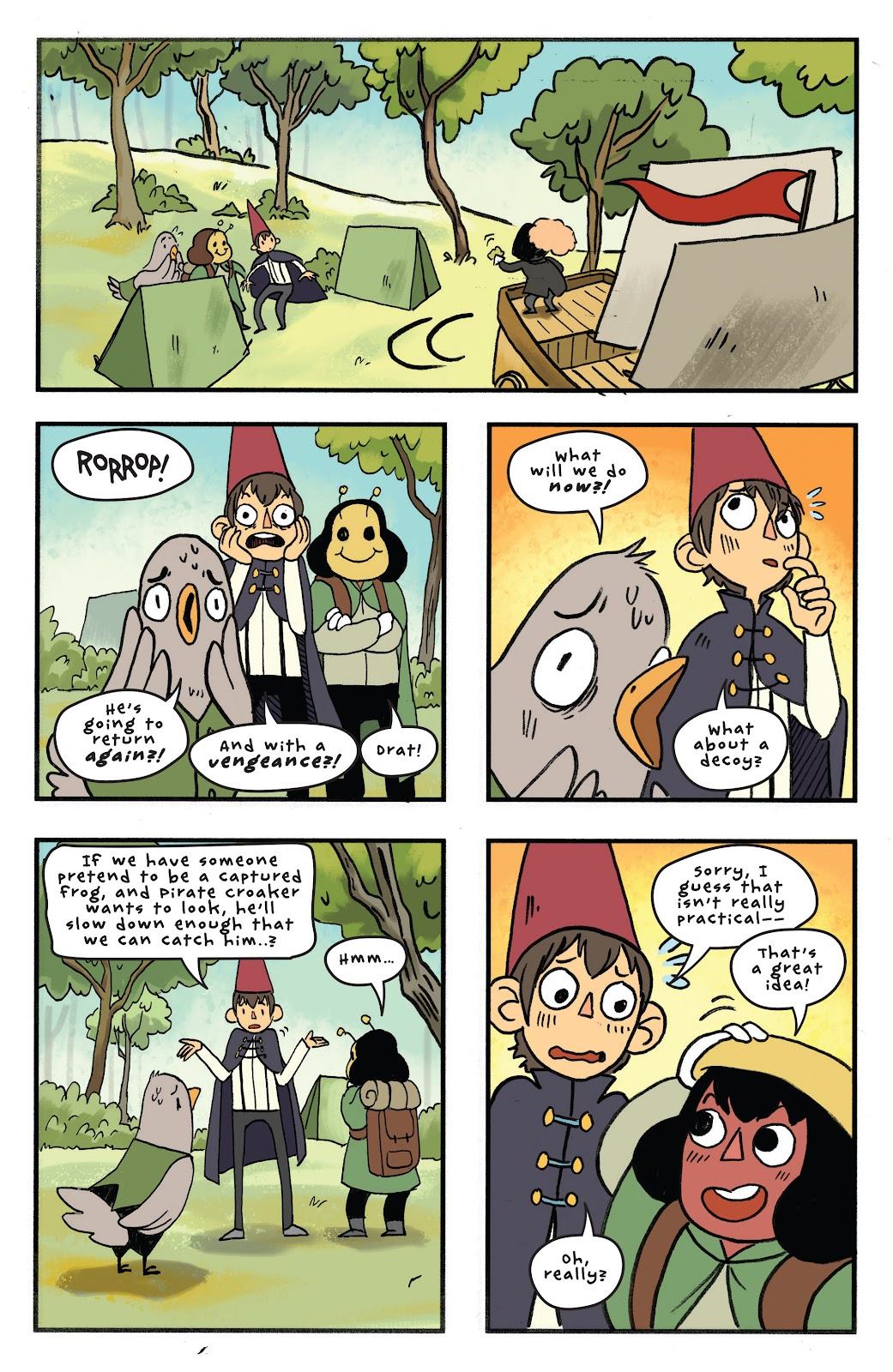 Over the Garden Wall (2016) Issue #11 #11 - English 19