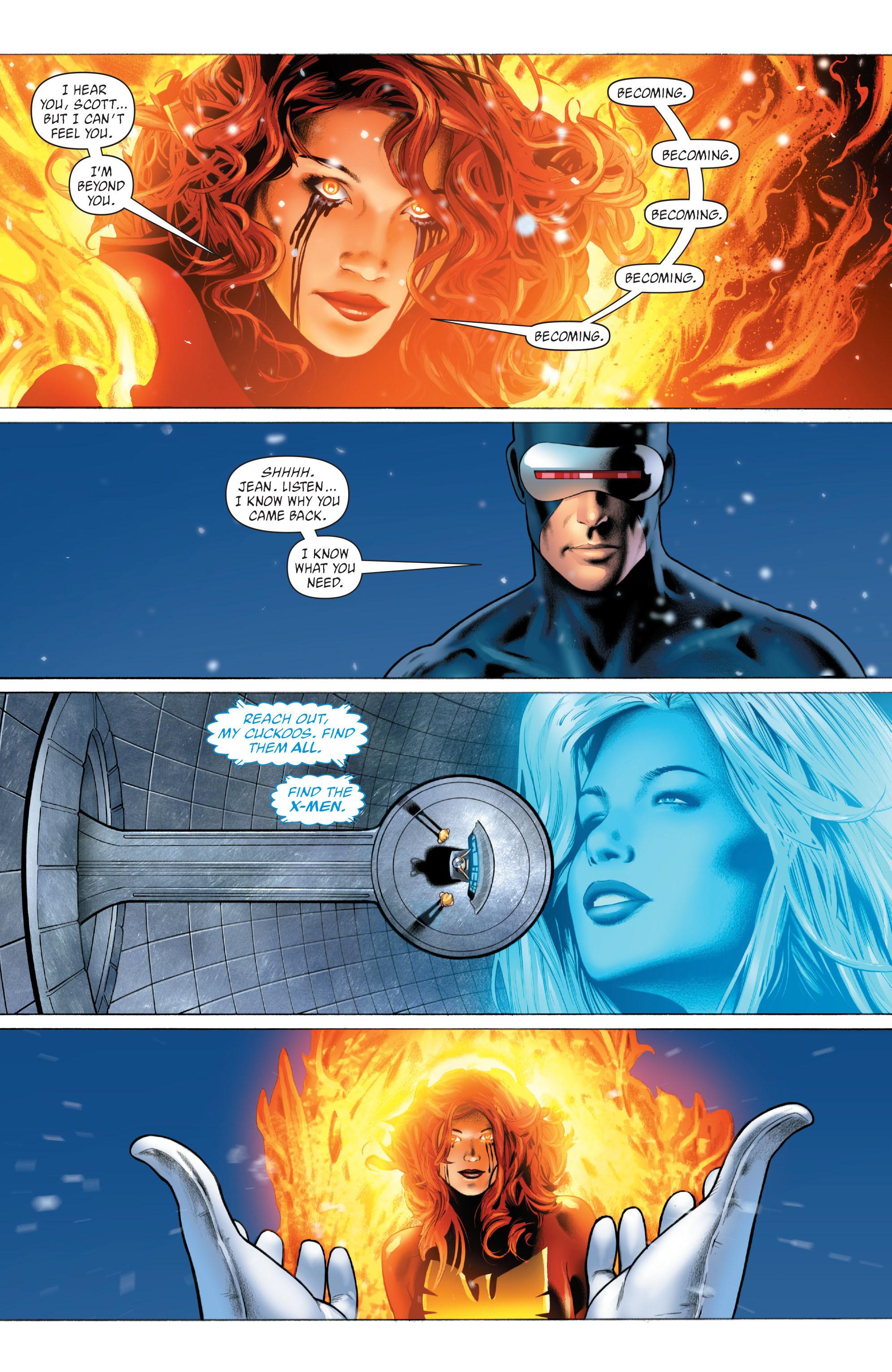 Read online X-Men: Phoenix - Endsong comic -  Issue #5 - 17