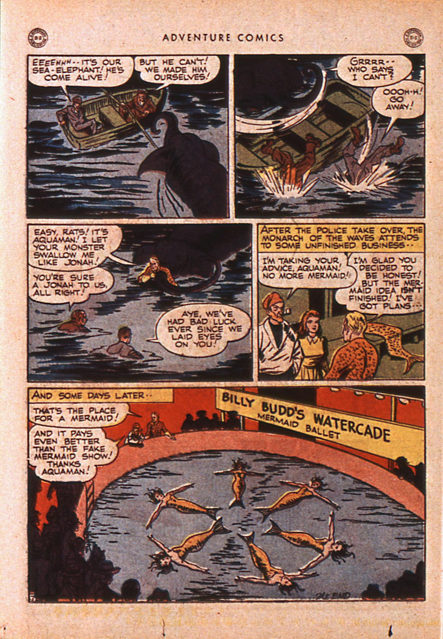 Read online Adventure Comics (1938) comic -  Issue #110 - 39