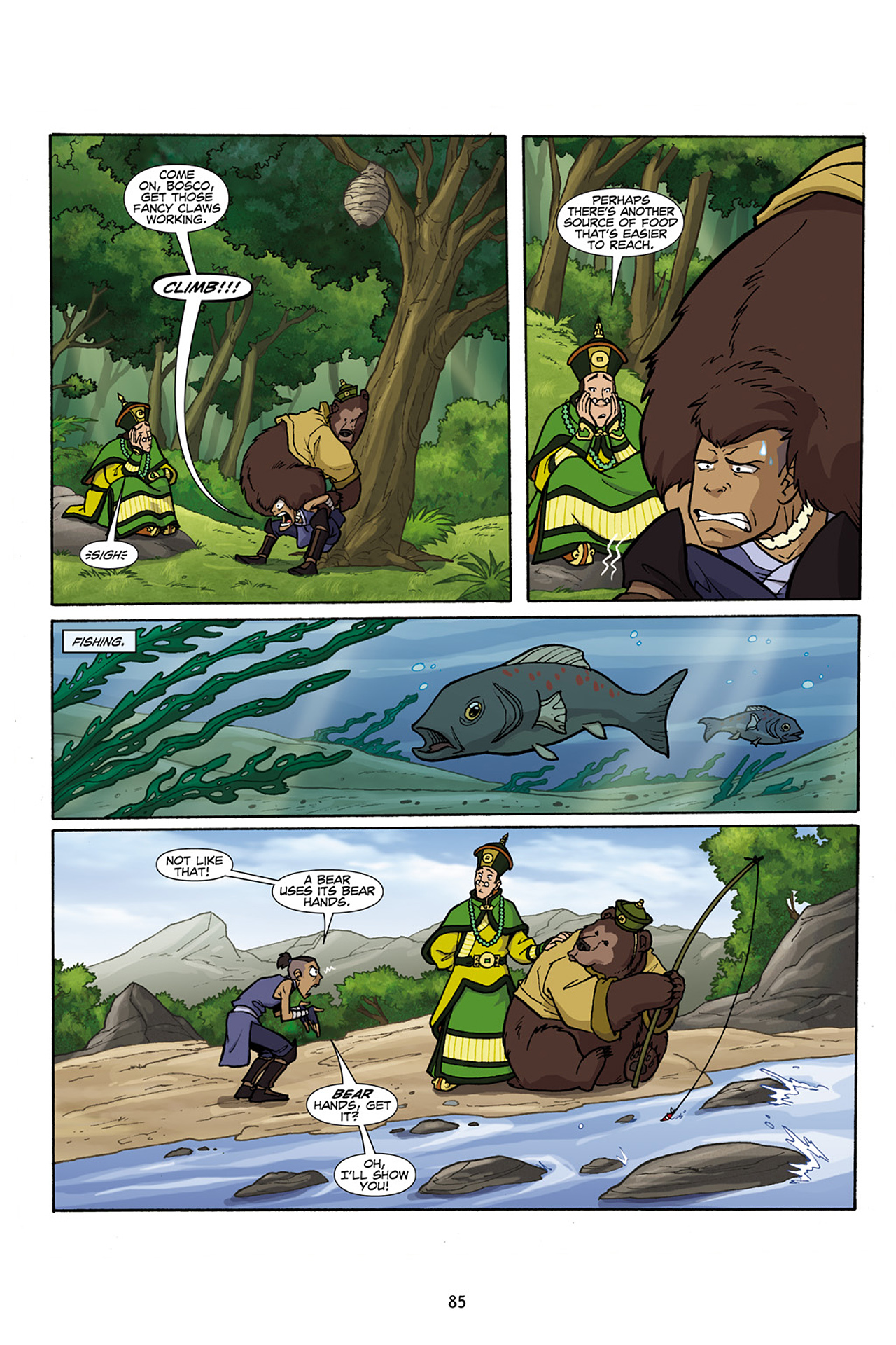 Nickelodeon Avatar: The Last Airbender - The Lost Adventures chap full pic 86