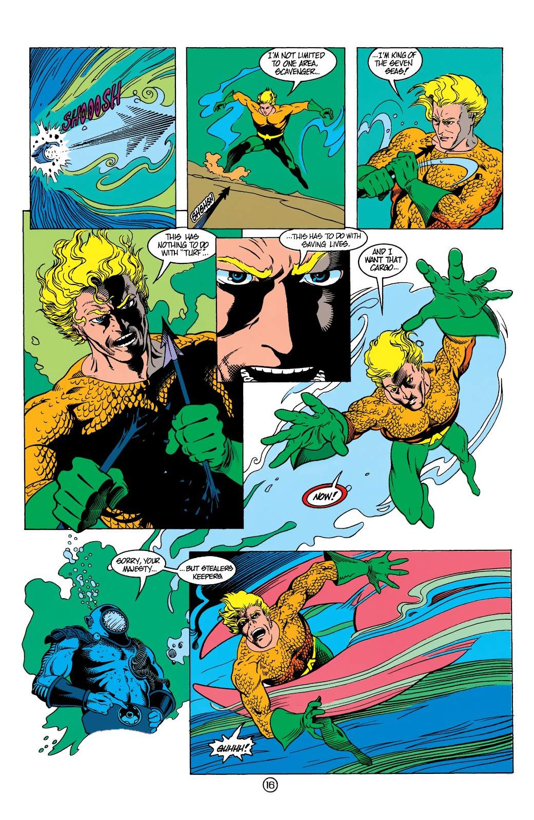 Aquaman (1991) Issue #13 #13 - English 17