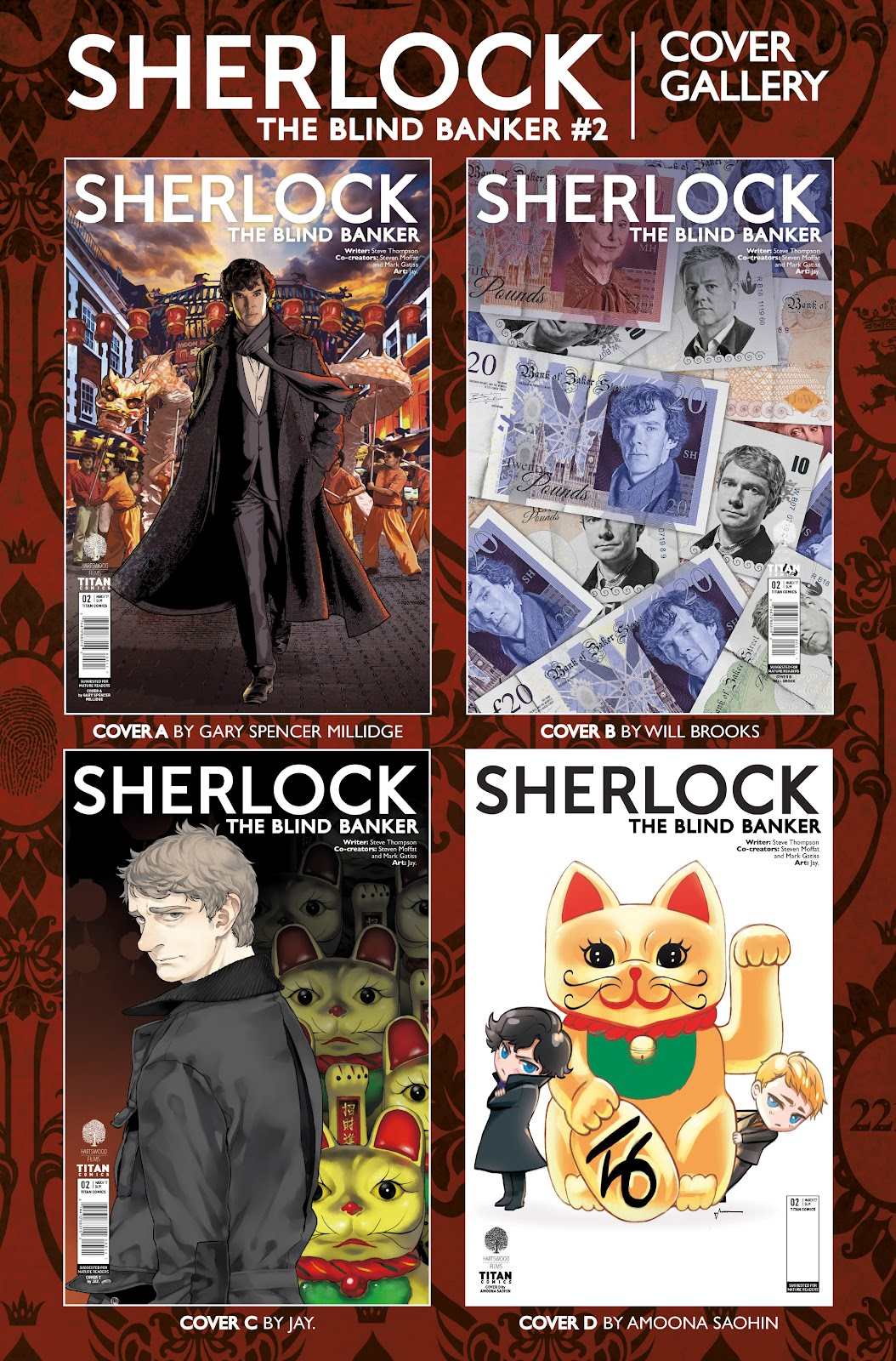 Sherlock: The Blind Banker Issue #2 #2 - English 38