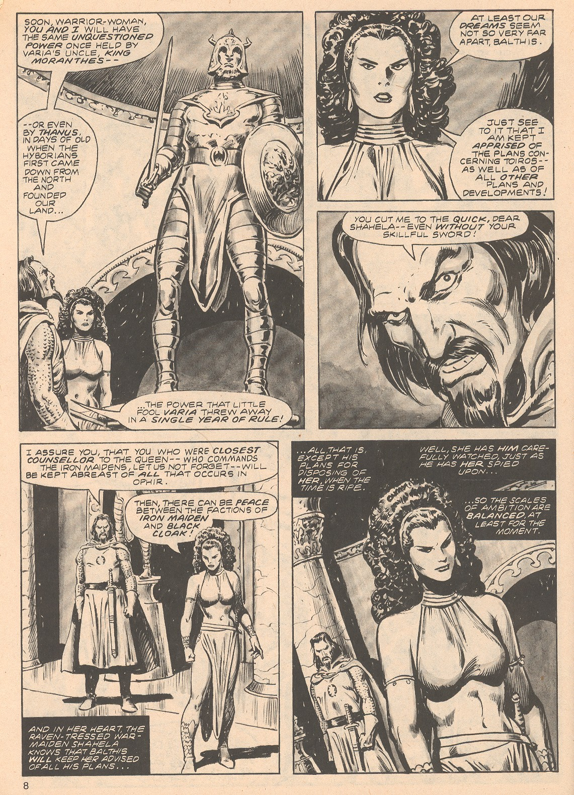 The Savage Sword Of Conan Issue #68 #69 - English 8