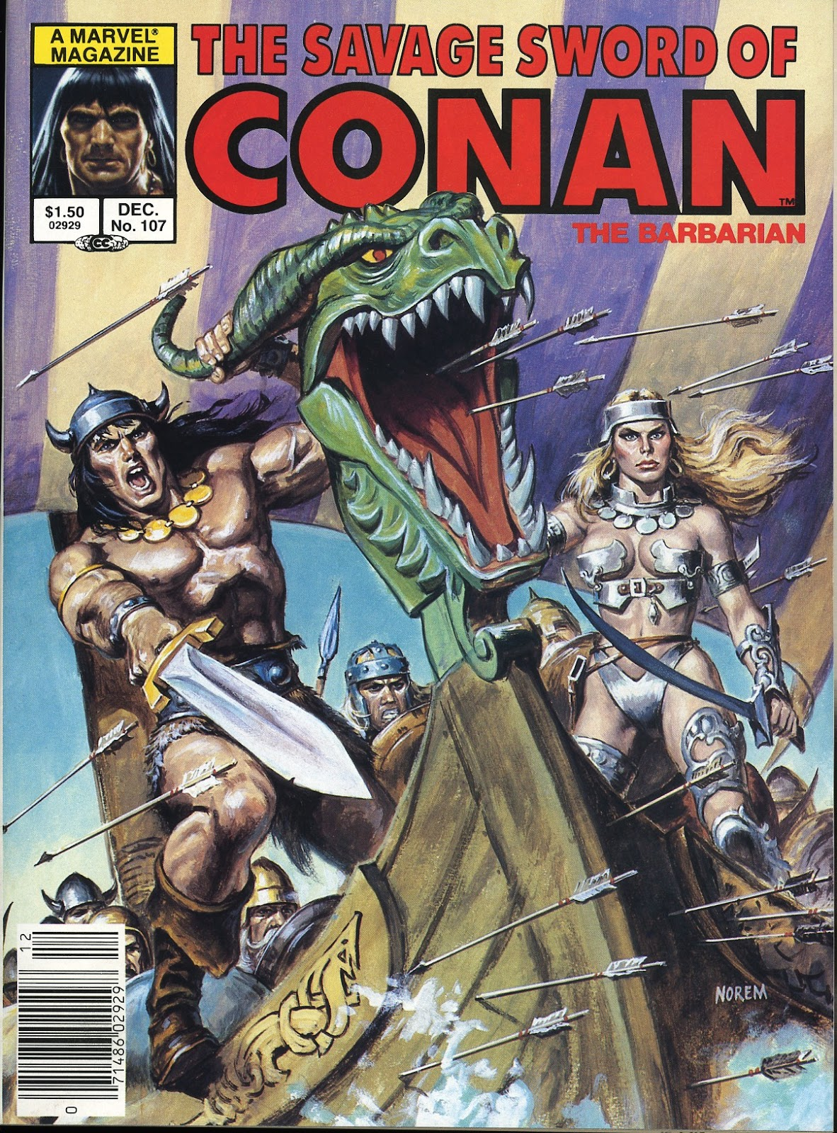 The Savage Sword Of Conan Issue #107 #108 - English 1