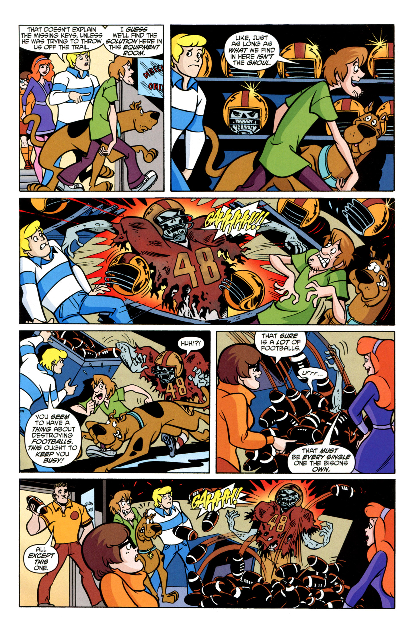 Read online Scooby-Doo: Where Are You? comic -  Issue #21 - 23
