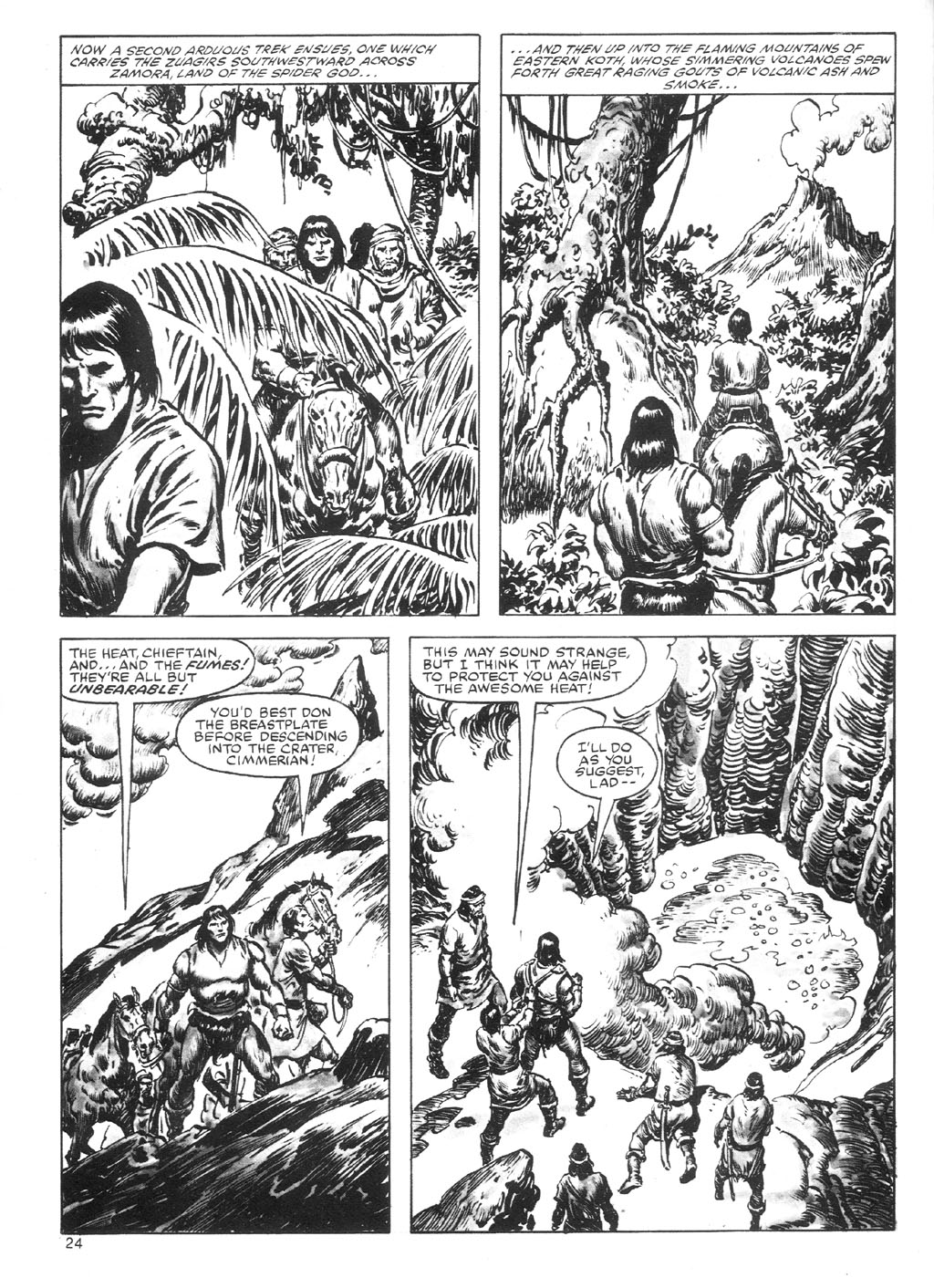 The Savage Sword Of Conan Issue #87 #88 - English 24