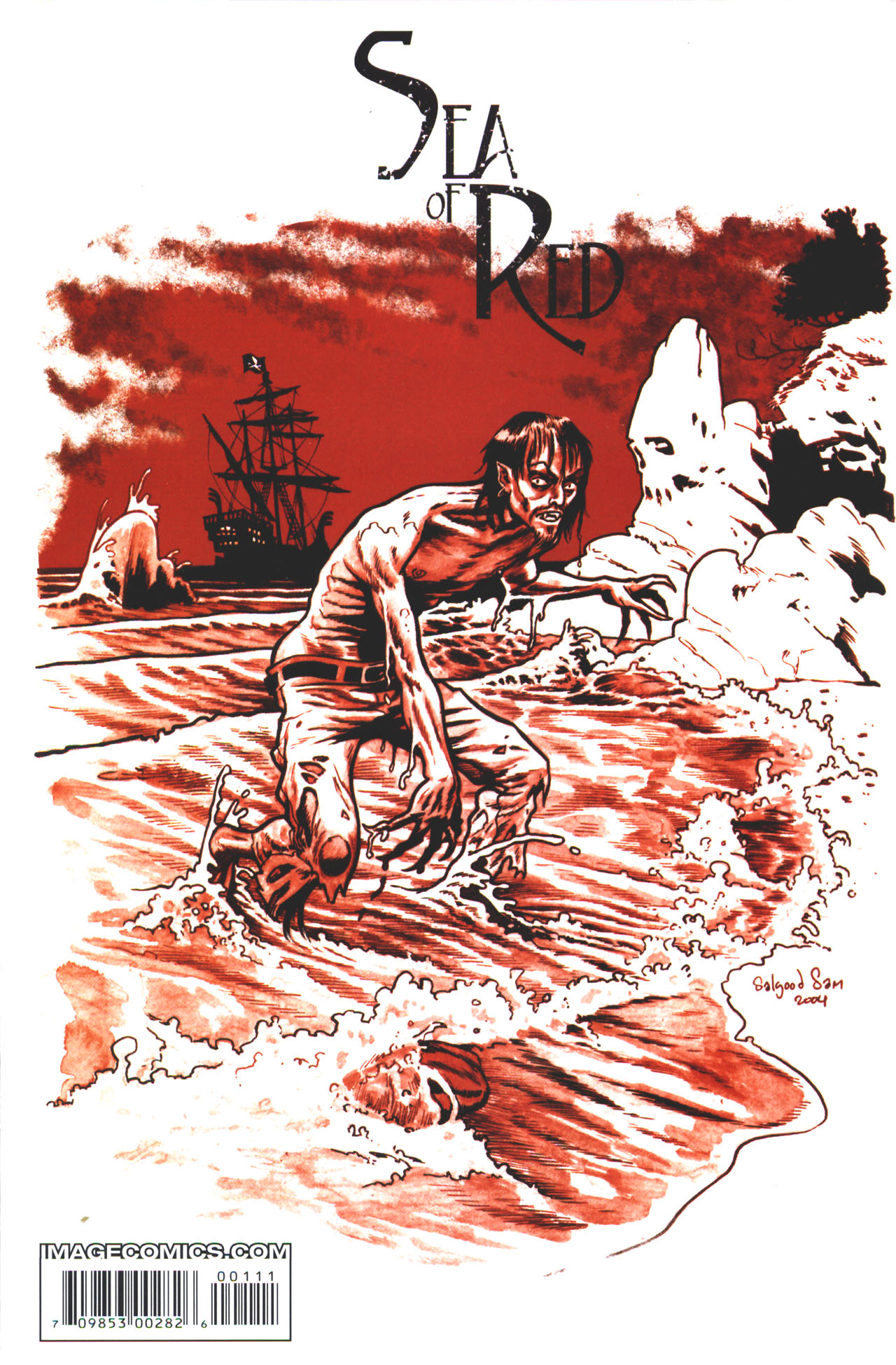 Read online Sea of Red comic -  Issue #1 - 35
