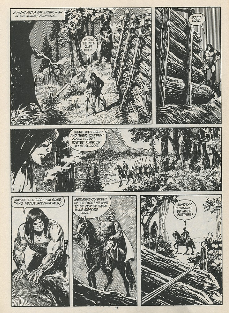 The Savage Sword Of Conan Issue #189 #190 - English 50