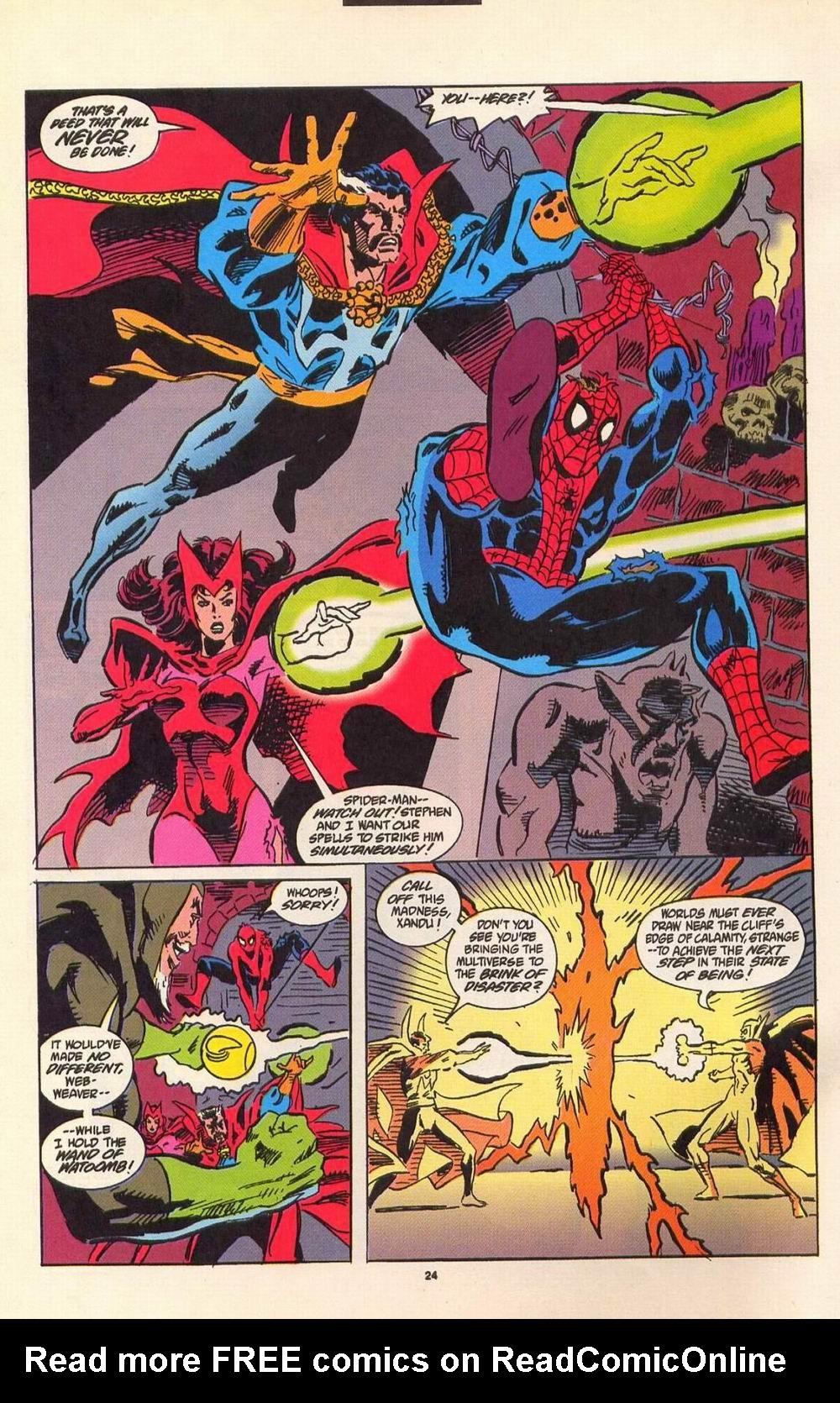 Read online Secret Defenders comic -  Issue #7 - 19