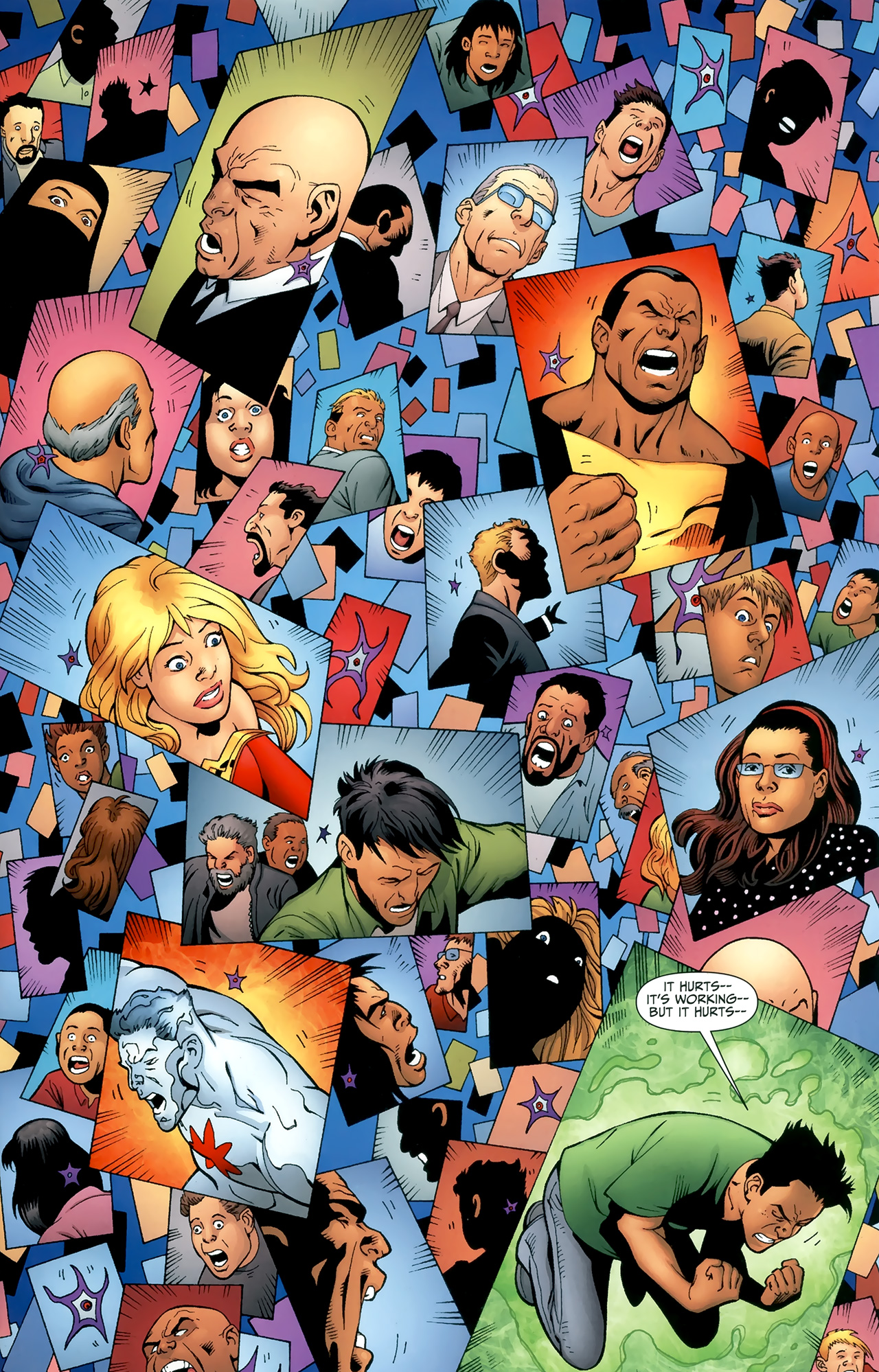 Read online Justice League of America/The 99 comic -  Issue #6 - 18