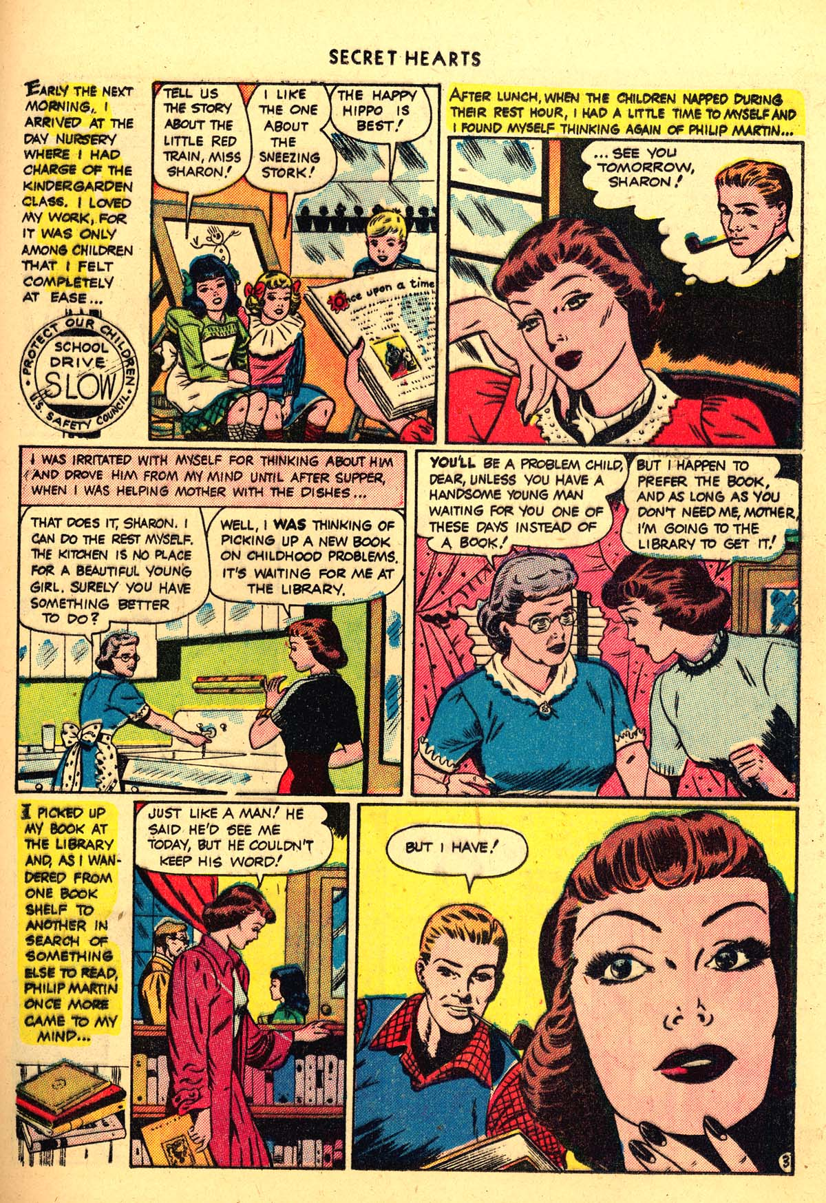 Read online Secret Hearts comic -  Issue #4 - 31