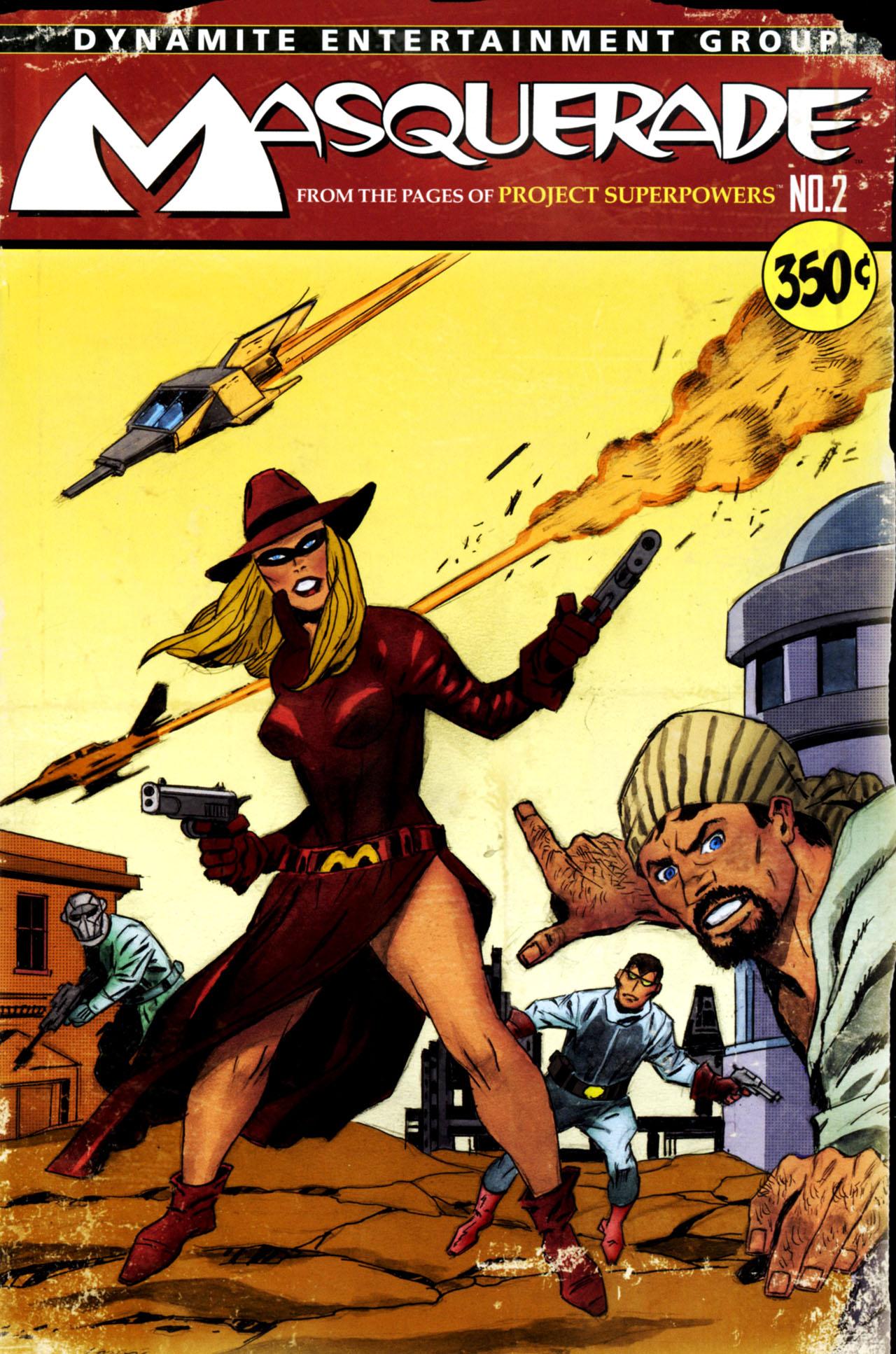 Read online Masquerade comic -  Issue #2 - 3