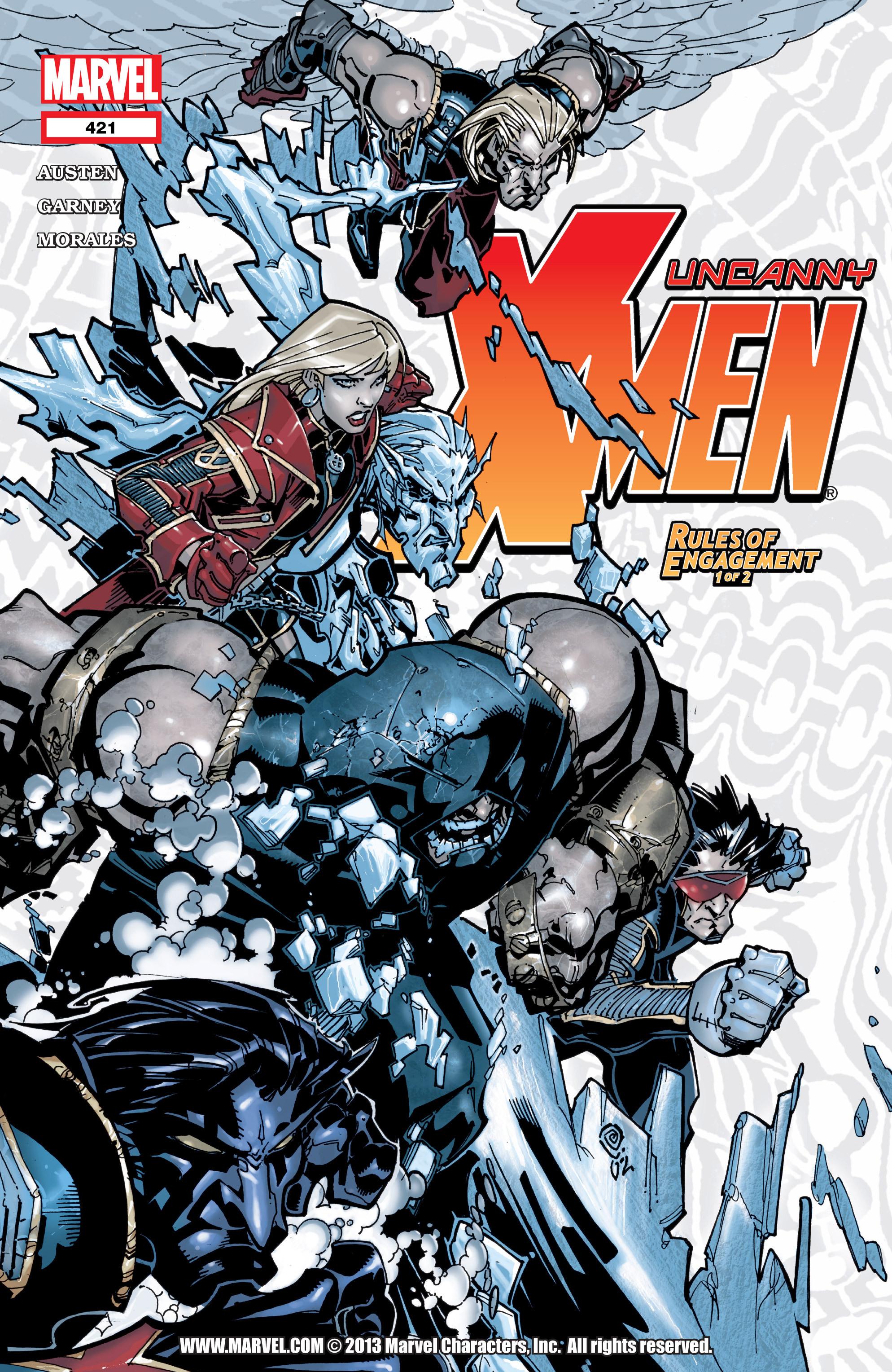 Uncanny X-Men (1963) 421 Page 1