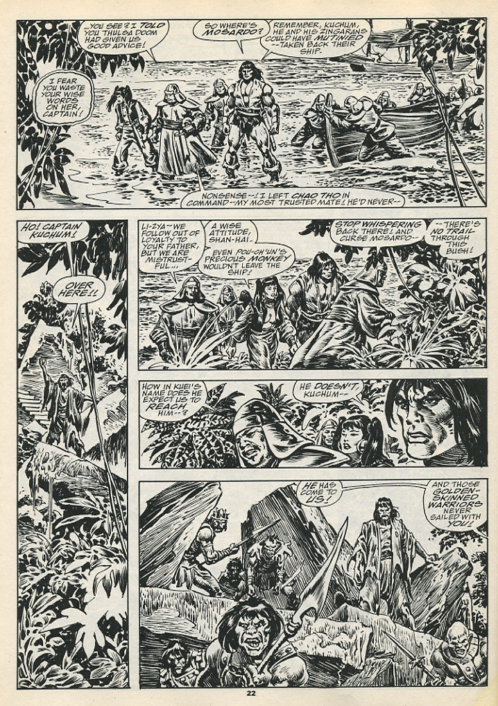 The Savage Sword Of Conan Issue #192 #193 - English 24