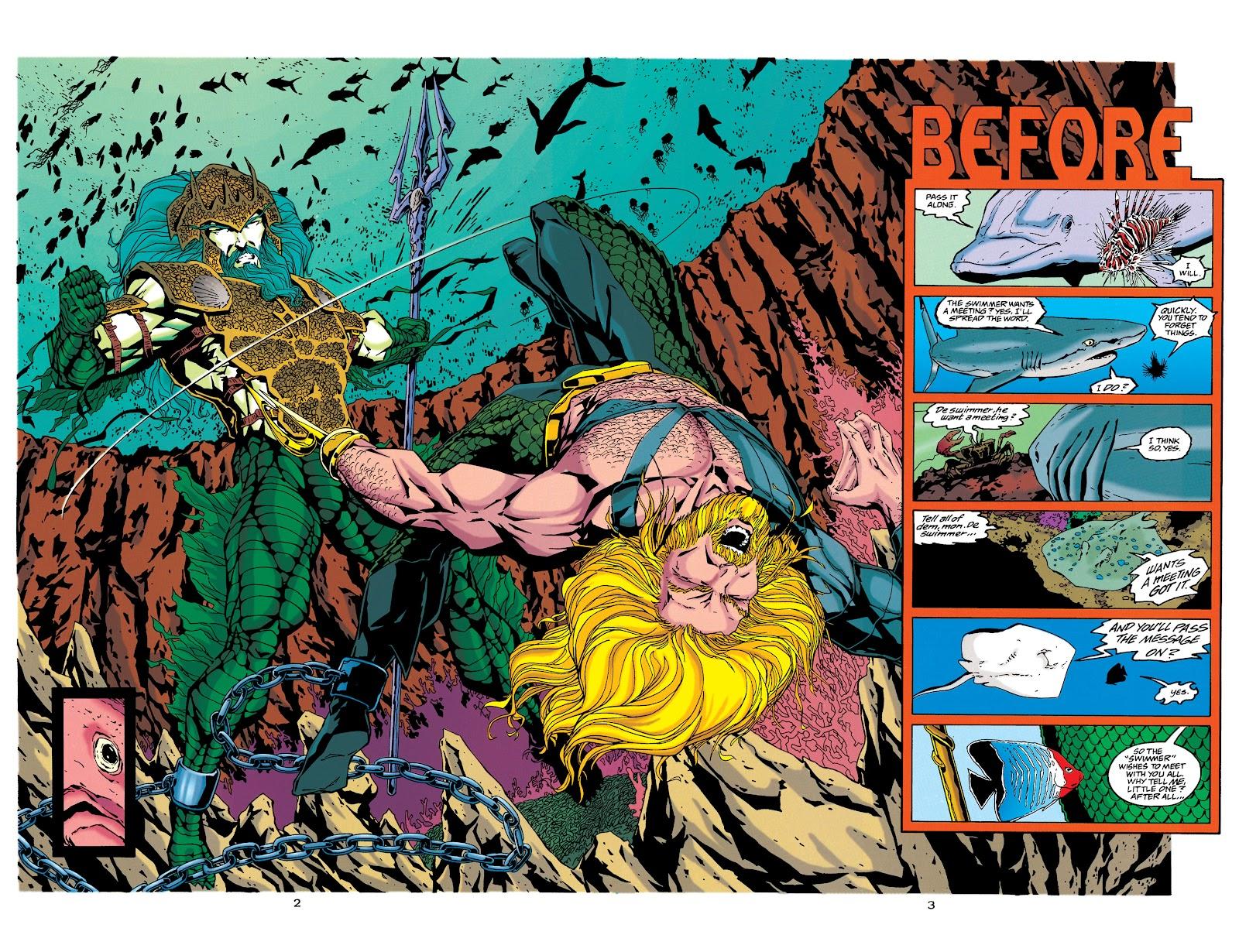 Aquaman (1994) Issue #34 #40 - English 3