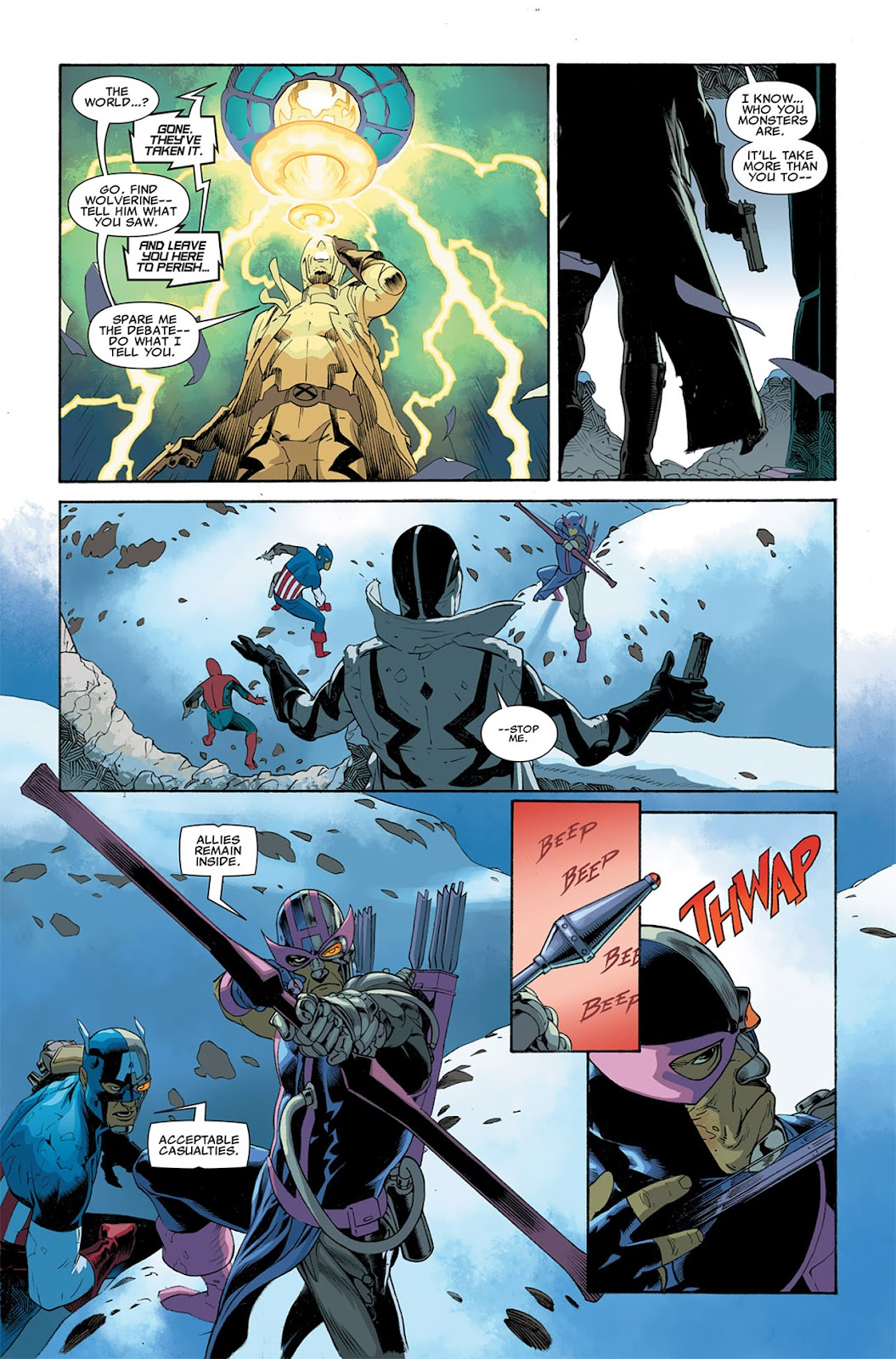 Uncanny X-Force (2010) Issue #5 #5 - English 20
