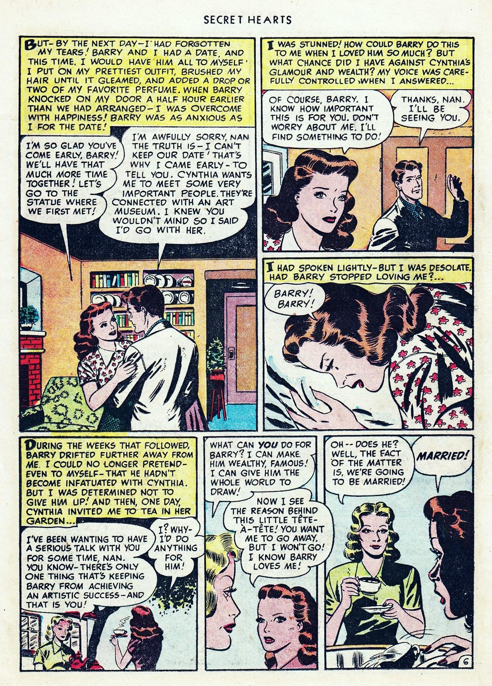 Read online Secret Hearts comic -  Issue #1 - 18