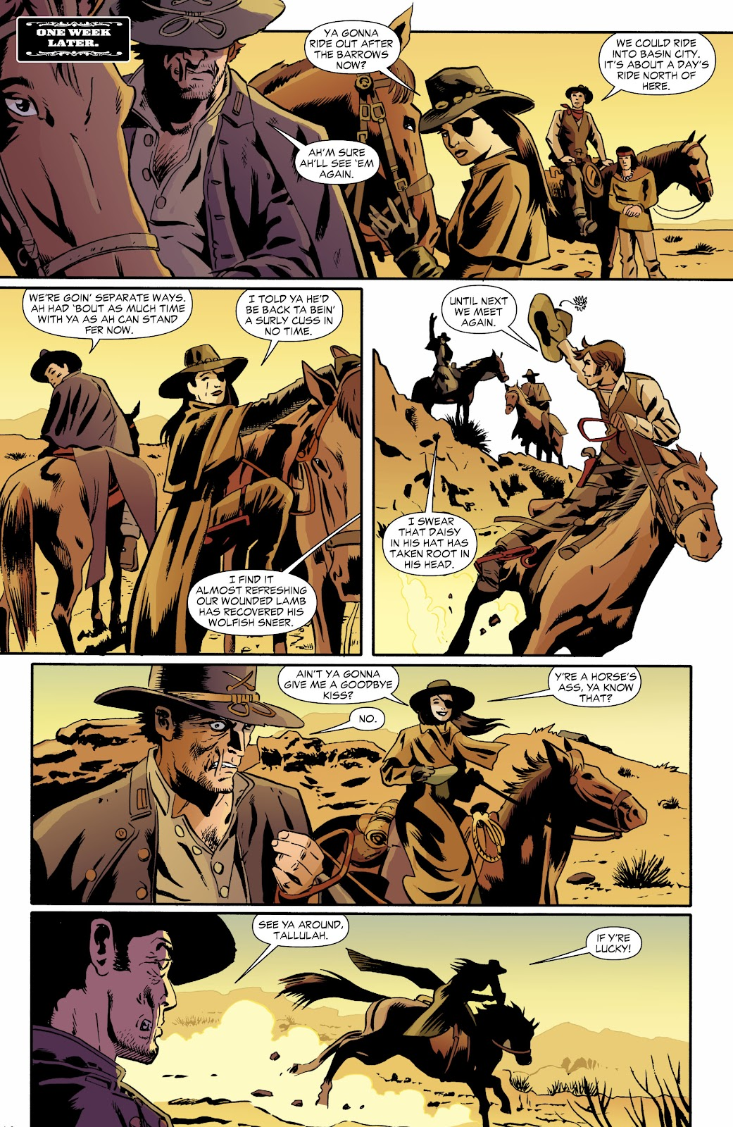 Jonah Hex (2006) Issue #70 #70 - English 19