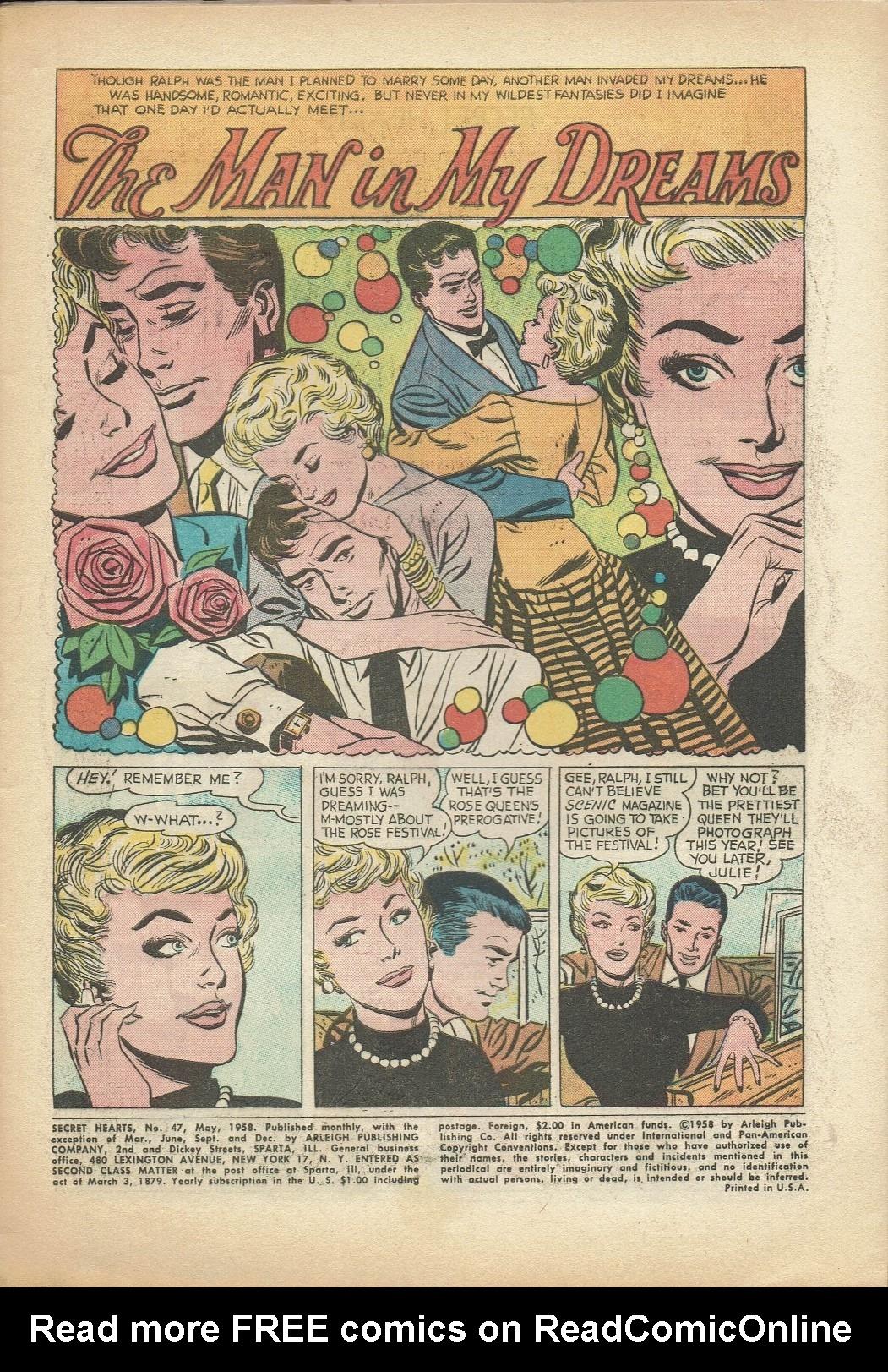 Read online Secret Hearts comic -  Issue #47 - 3