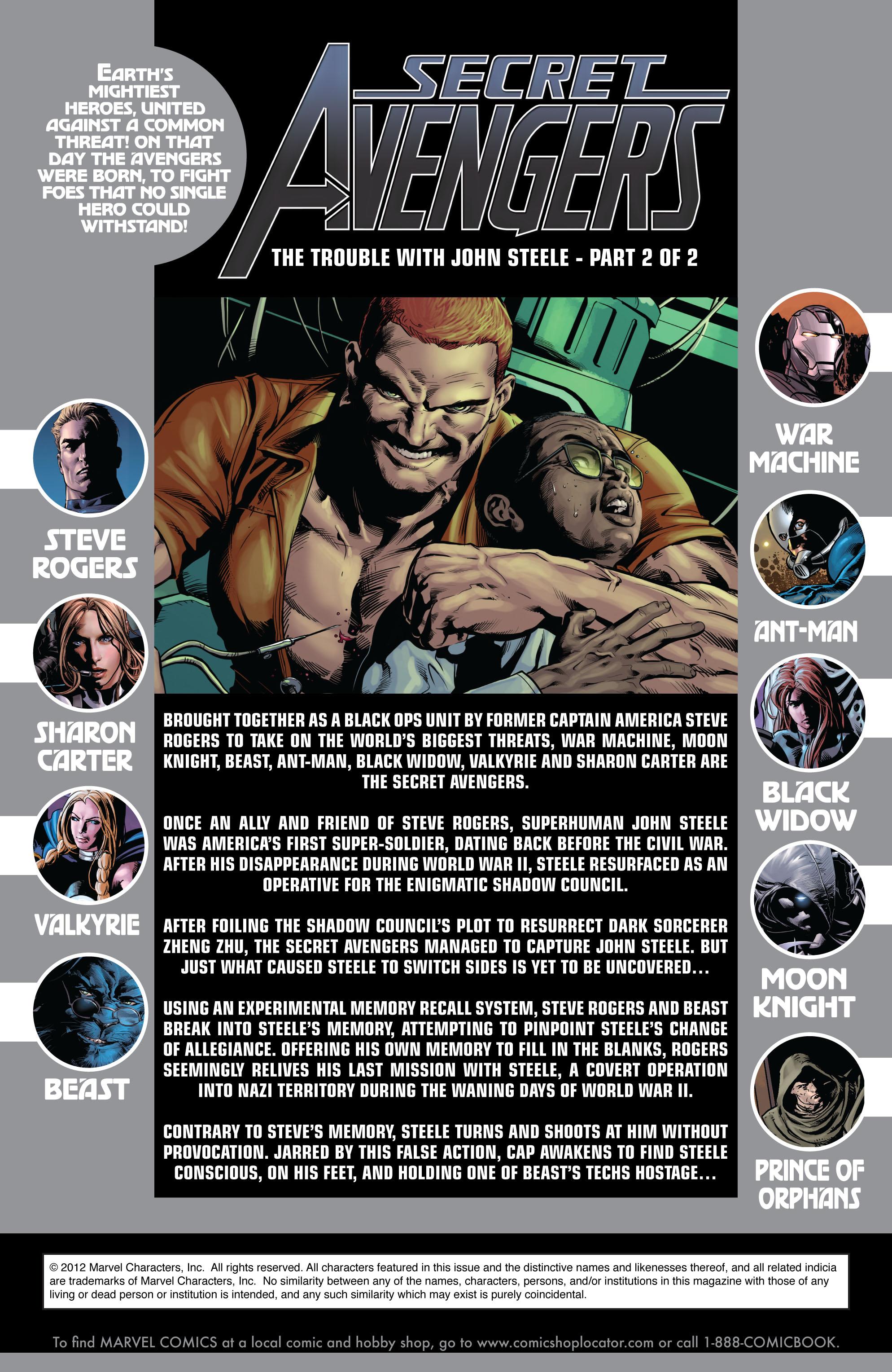 Read online Secret Avengers (2010) comic -  Issue #12 - 2