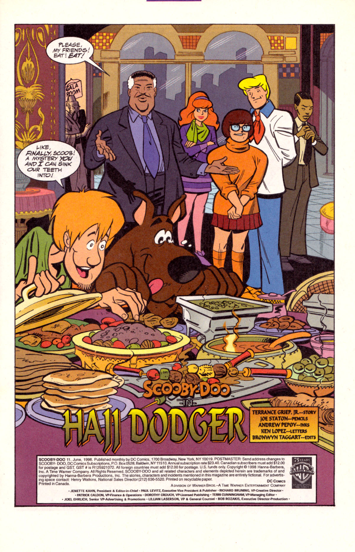Read online Scooby-Doo (1997) comic -  Issue #11 - 2