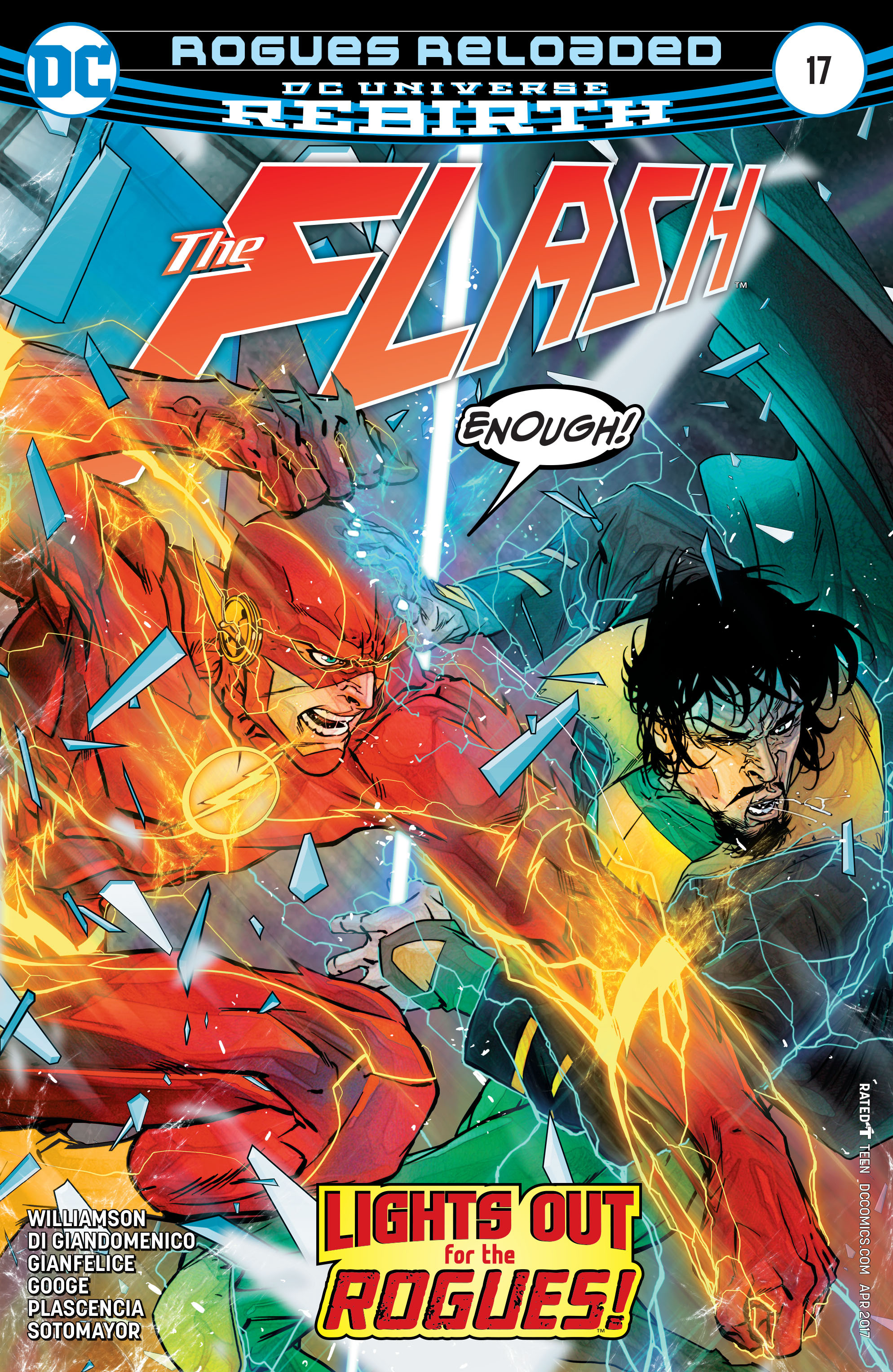 The Flash (2016) issue 17 - Page 1