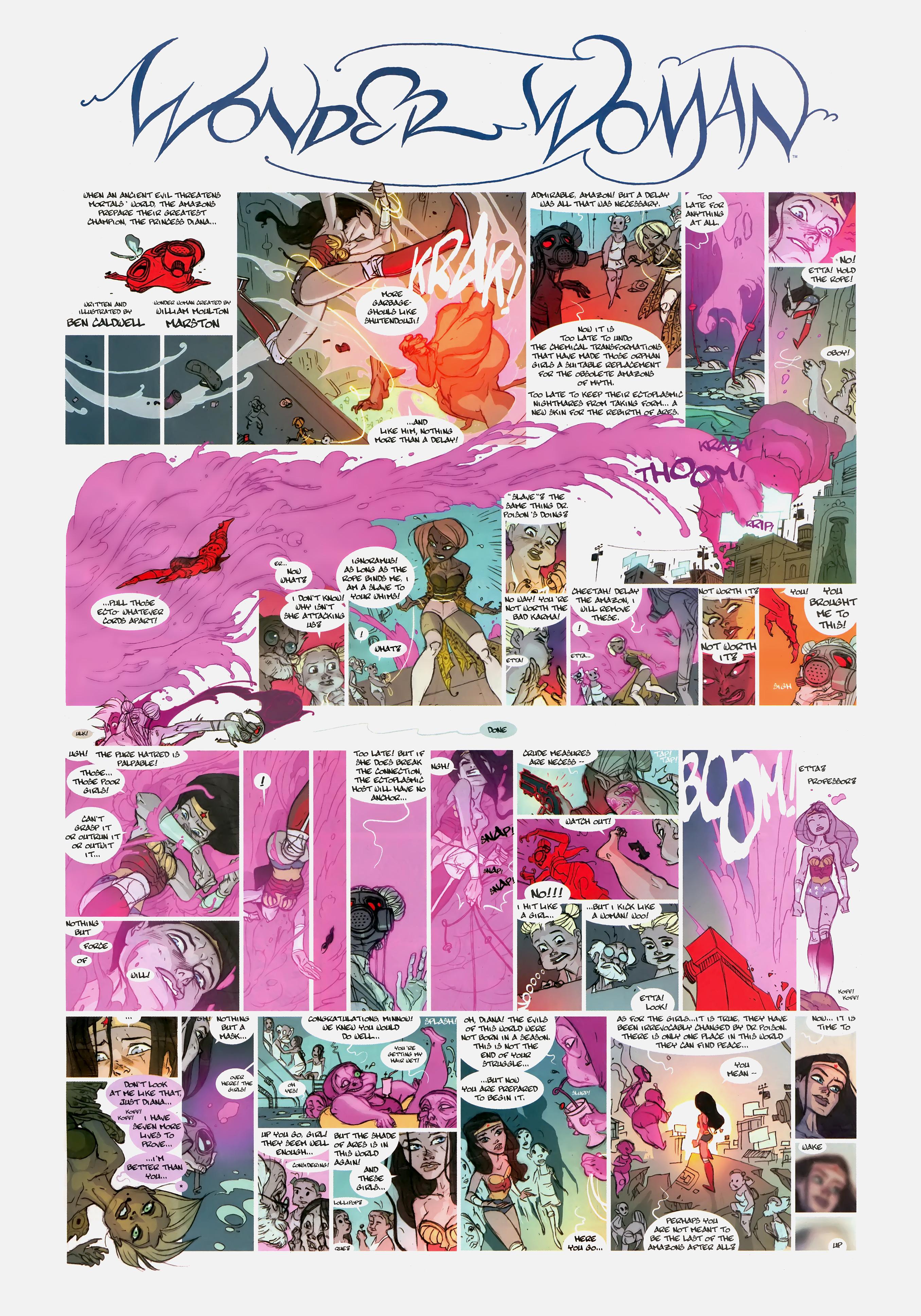 Read online Wednesday Comics comic -  Issue #12 - 12